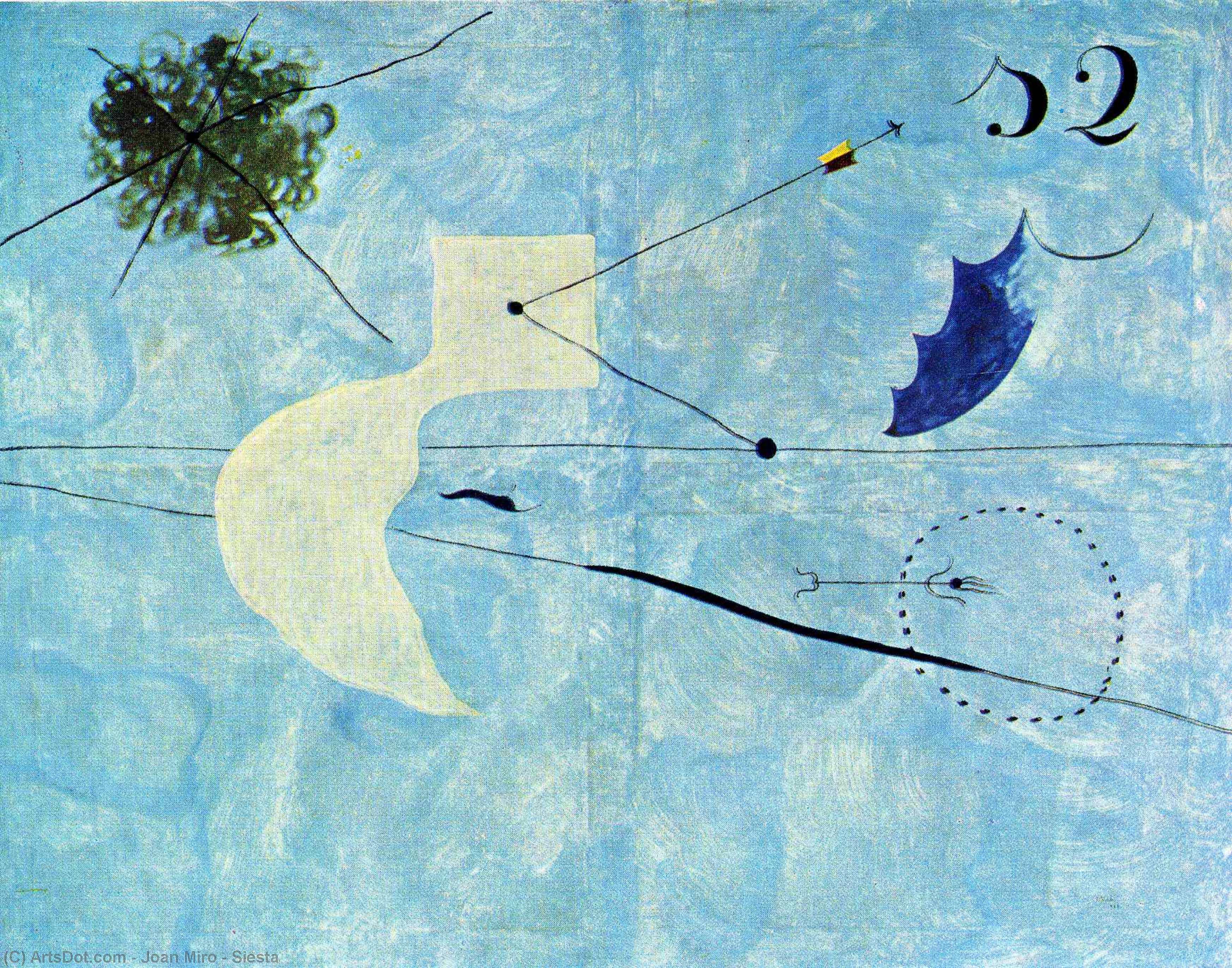 Siesta - Joan Miro