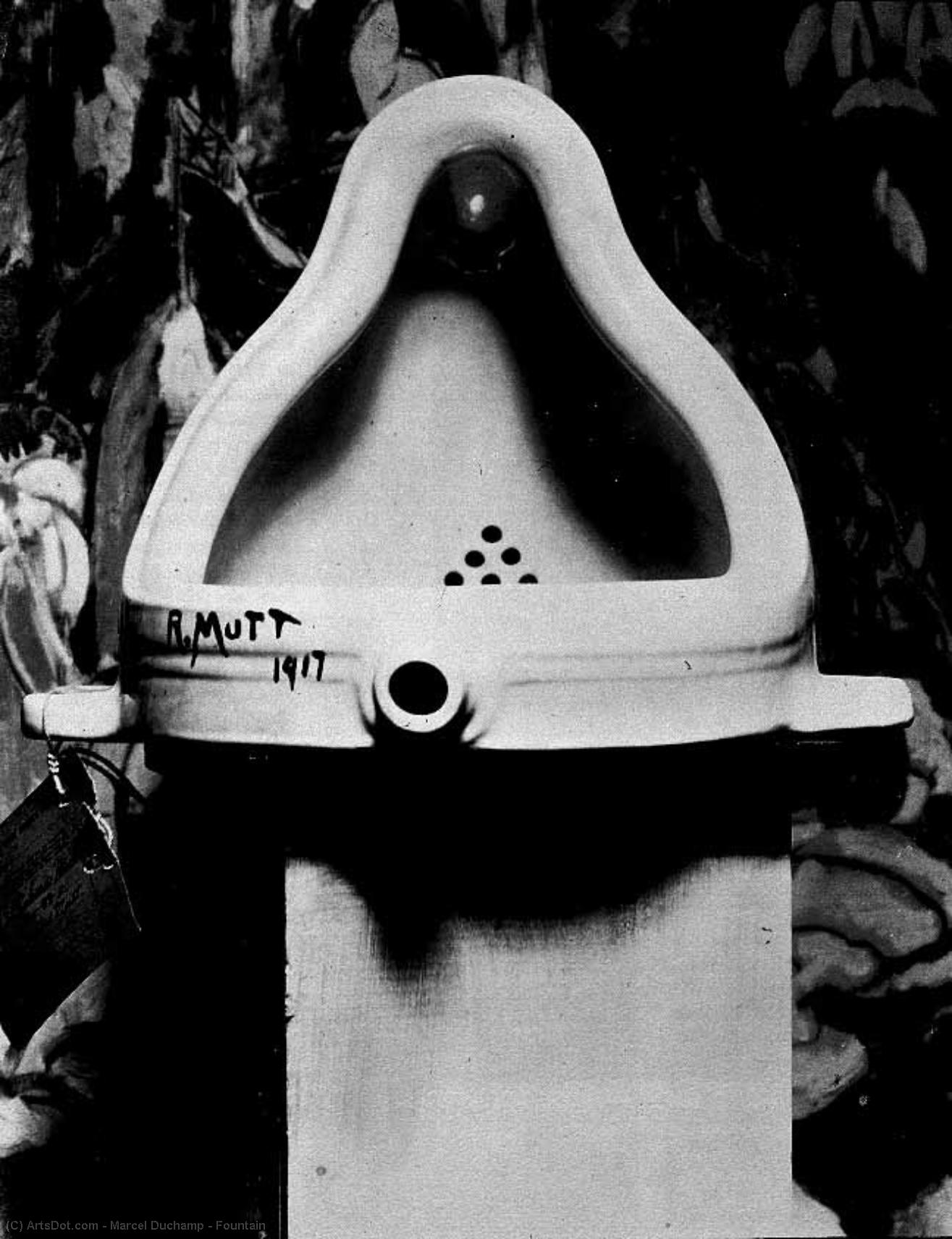Wikioo.org - The Encyclopedia of Fine Arts - Painting, Artwork by Marcel Duchamp - Fountain