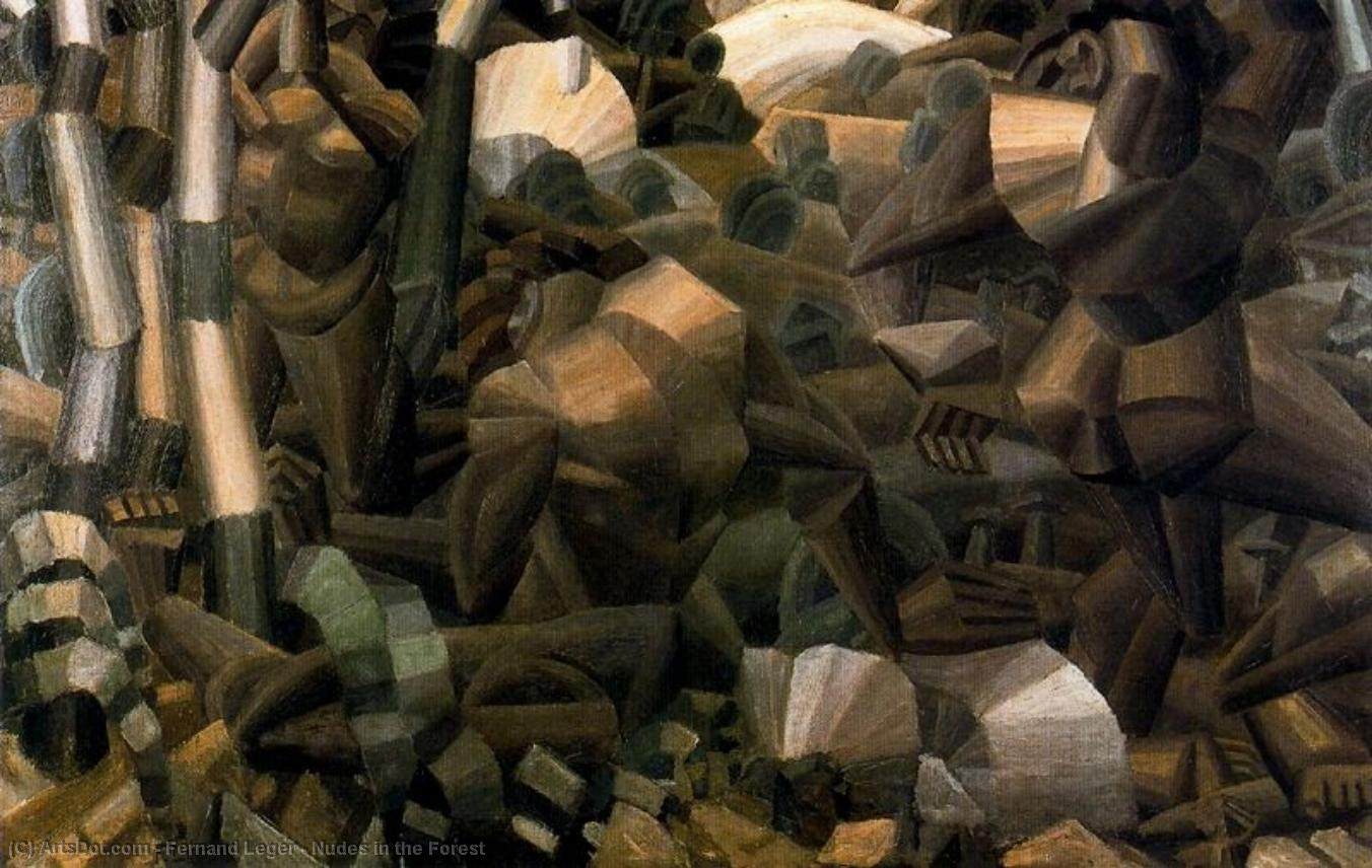 Nudes in the Forest - Fernand Leger