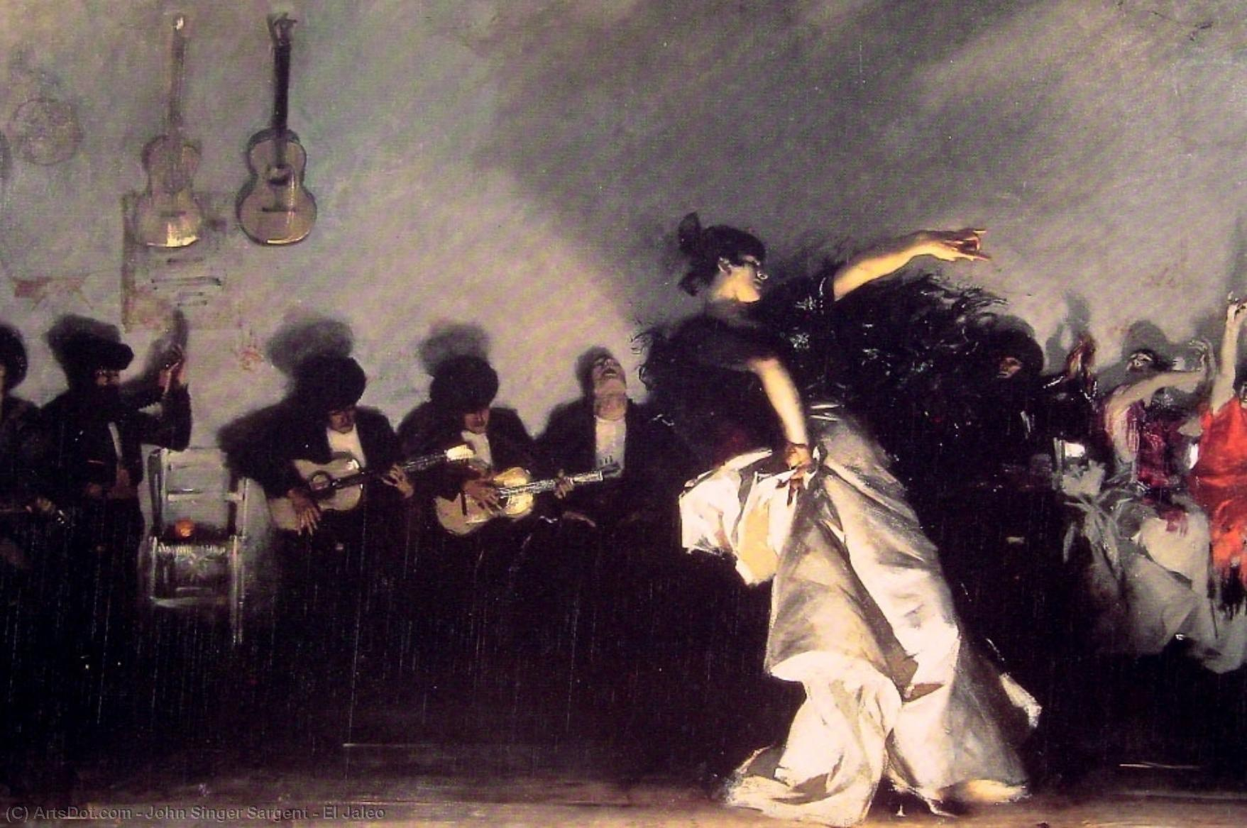 Wikioo.org - The Encyclopedia of Fine Arts - Painting, Artwork by John Singer Sargent - El Jaleo