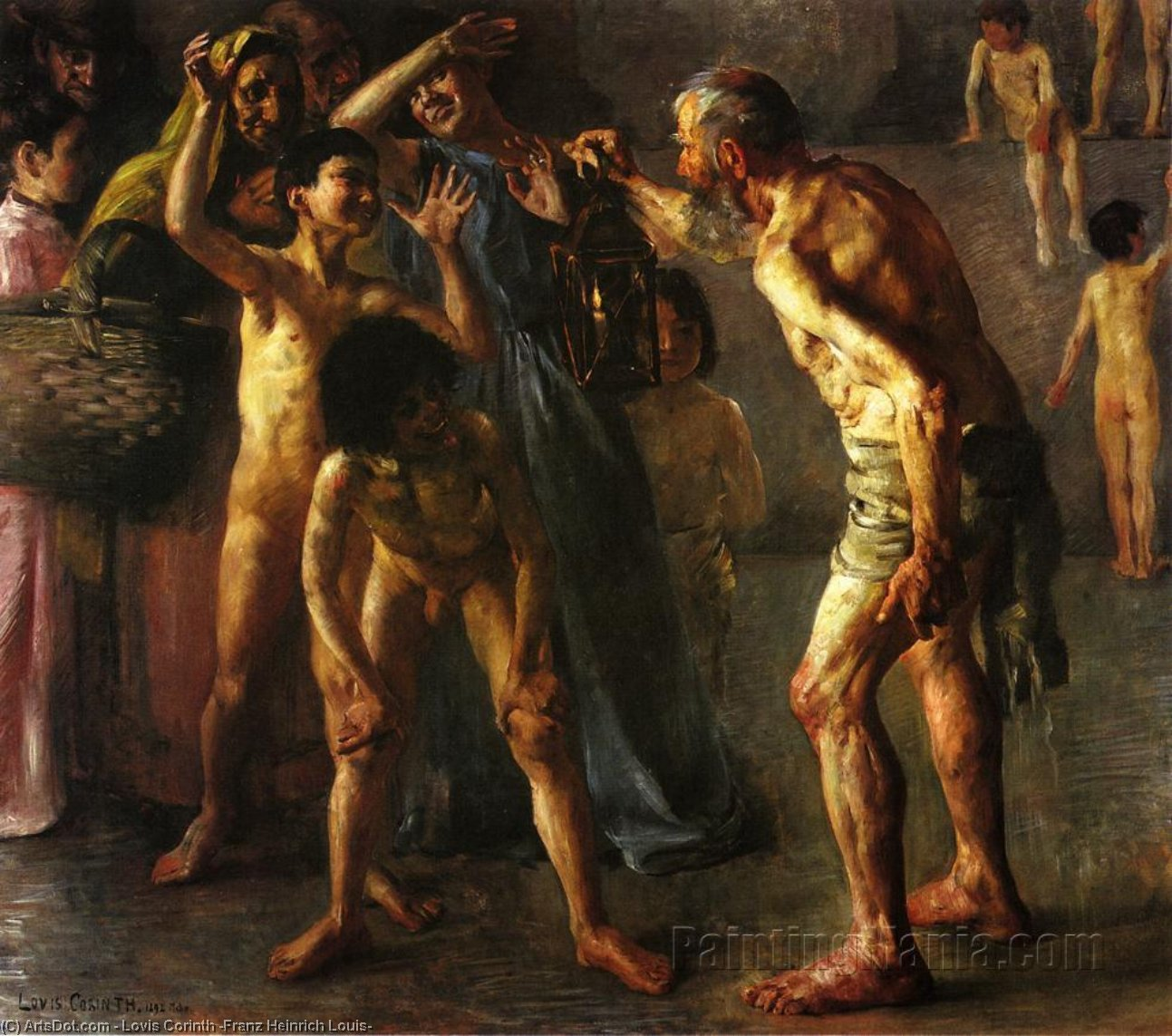 Wikioo.org - The Encyclopedia of Fine Arts - Painting, Artwork by Lovis Corinth (Franz Heinrich Louis) - Diogenes