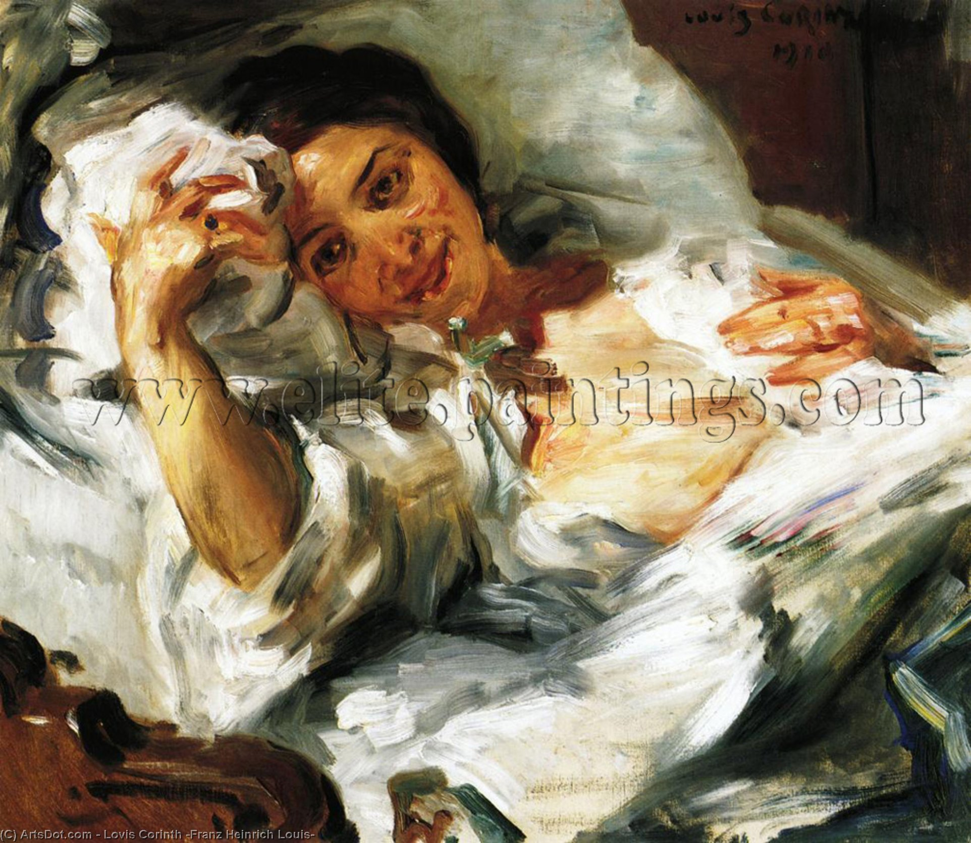 Wikioo.org - The Encyclopedia of Fine Arts - Painting, Artwork by Lovis Corinth (Franz Heinrich Louis) - Morning Sun