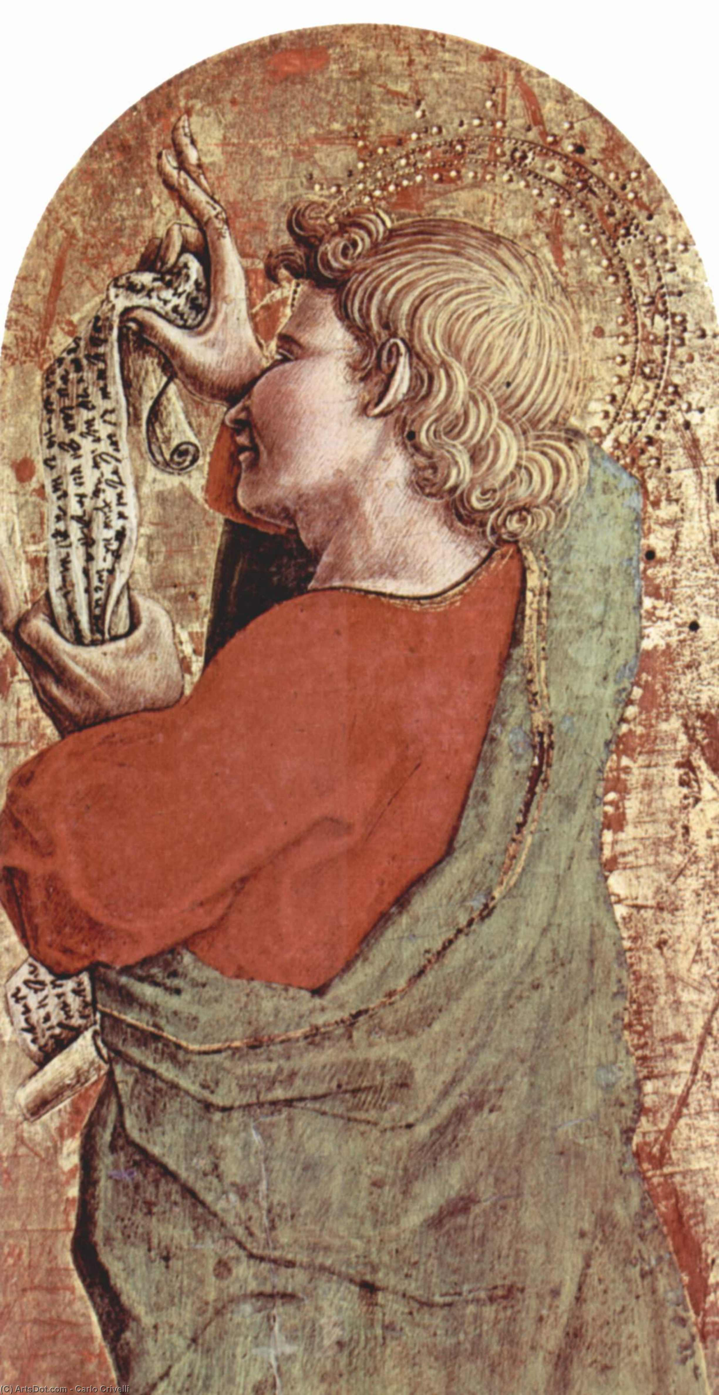 Wikioo.org - The Encyclopedia of Fine Arts - Painting, Artwork by Carlo Crivelli - Saint James