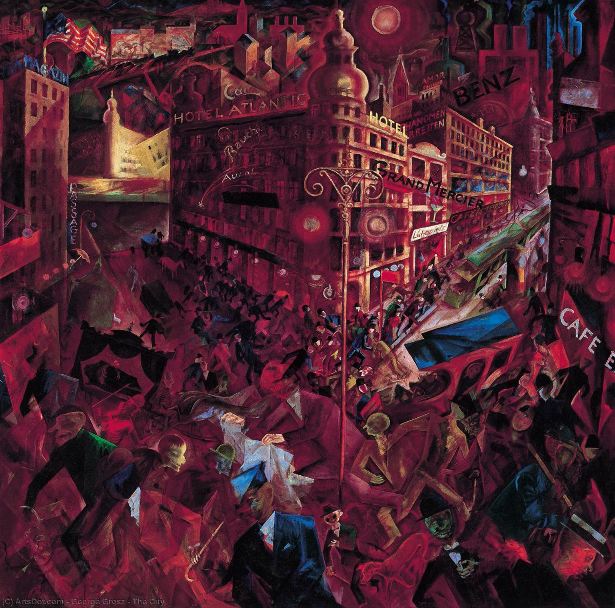 The City - George Grosz