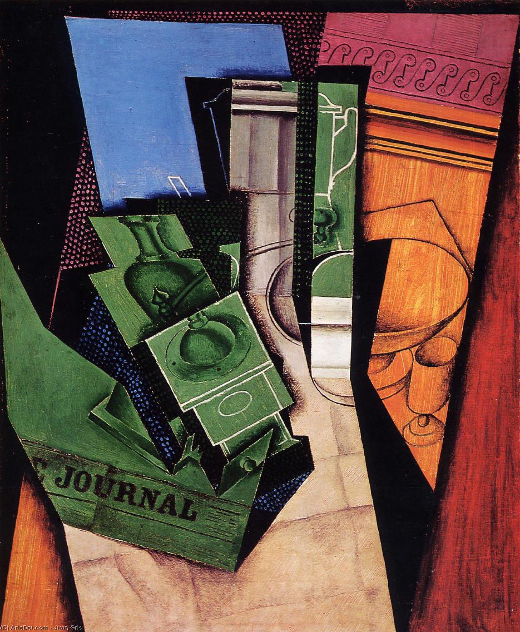 Wikioo.org - The Encyclopedia of Fine Arts - Painting, Artwork by Juan Gris - Breakfast