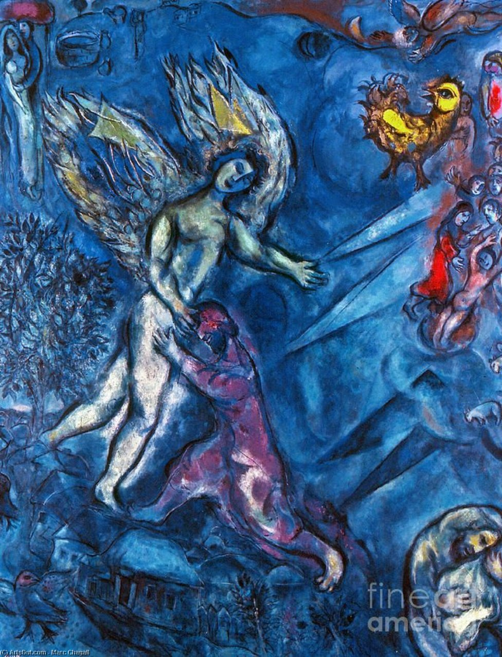 the colors in marc chagalls paintings Marc-chagall-paintingsorg color painting marc chagall color painting by marc chagall la tour eiffel a lane lithograph in colors.