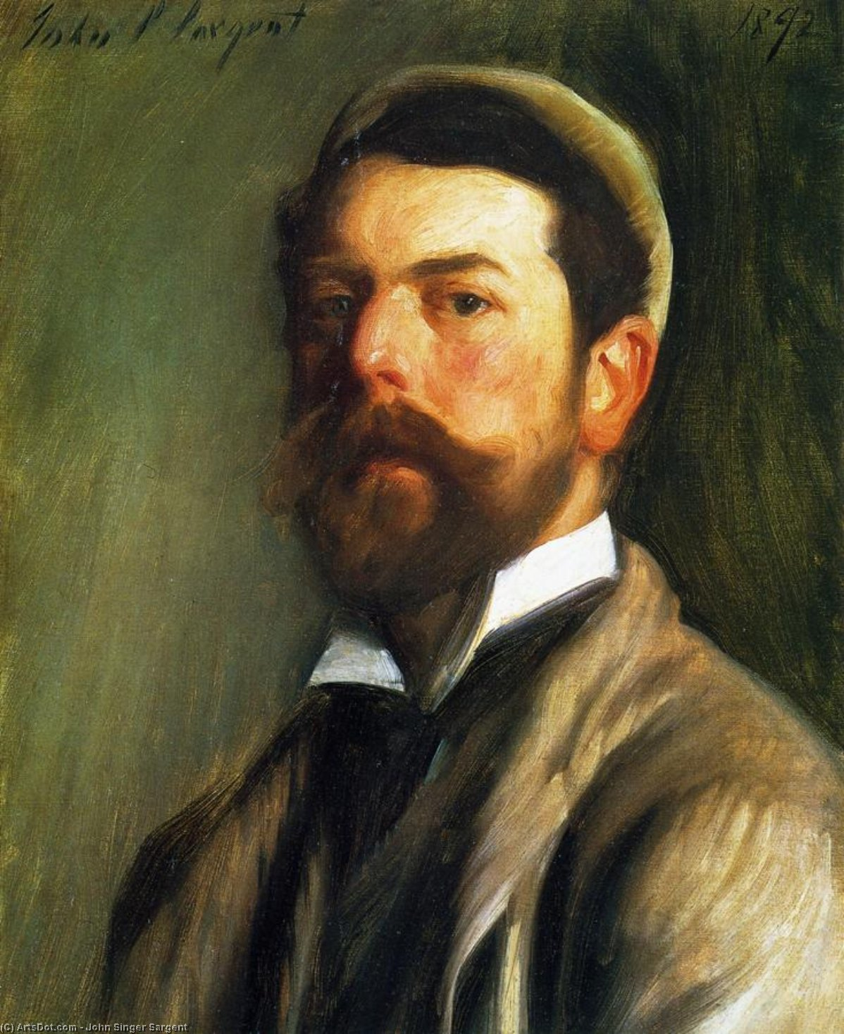 a biography of john singer sargent Sargent's biography (1856-1925) john singer sargent was an american painter by birth-right he loved his country yet he spent most of his life in europe he was the.