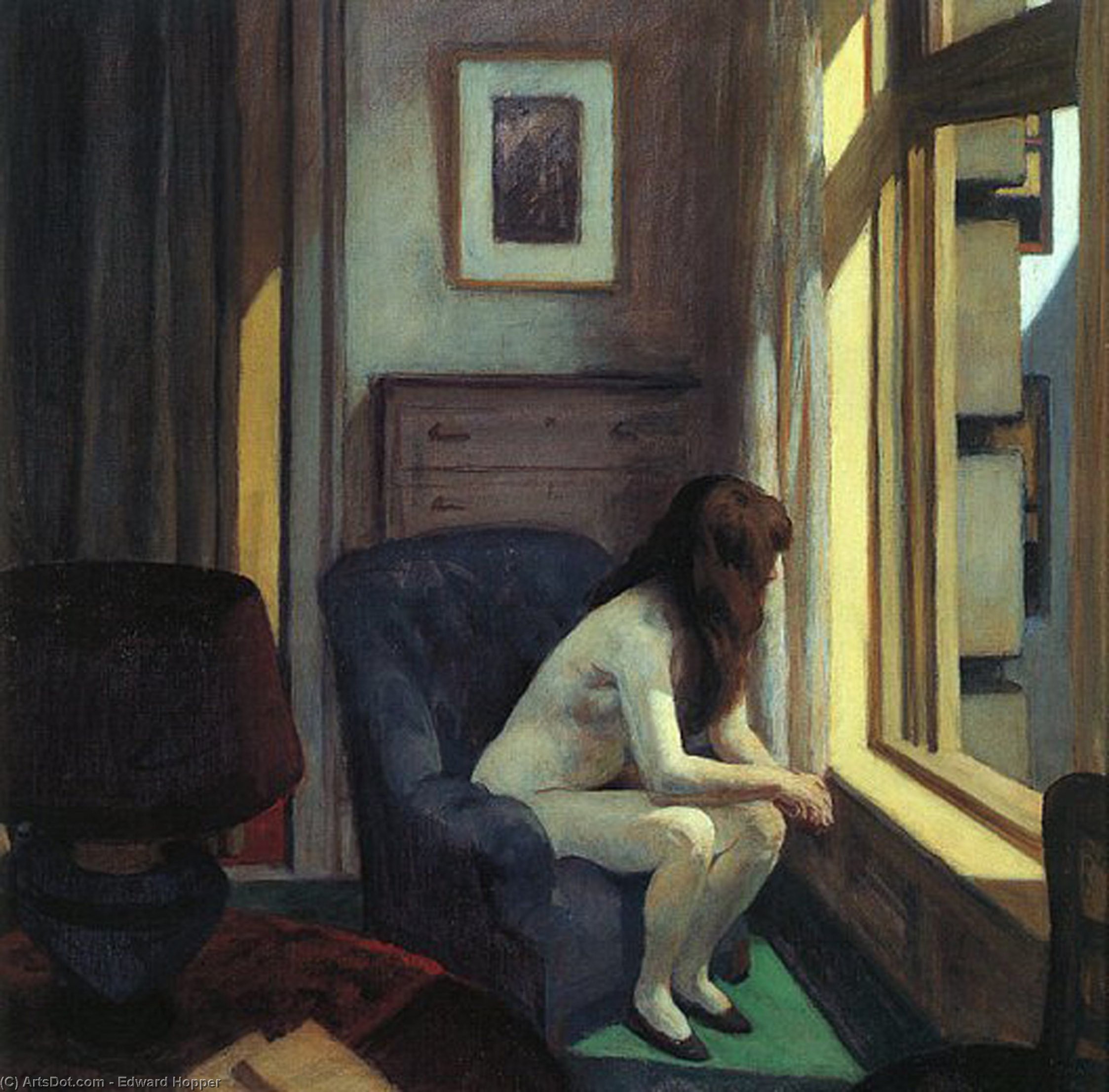 edward hopper story painting essay Edward hopper was a historian who used painting as his medium, instead of the written word, to depict 1940's american life in his home state, through nighthawks edward hopper techniques hopper used perspective in setting the scene for nighthawks, at an angled street corner allowing him.
