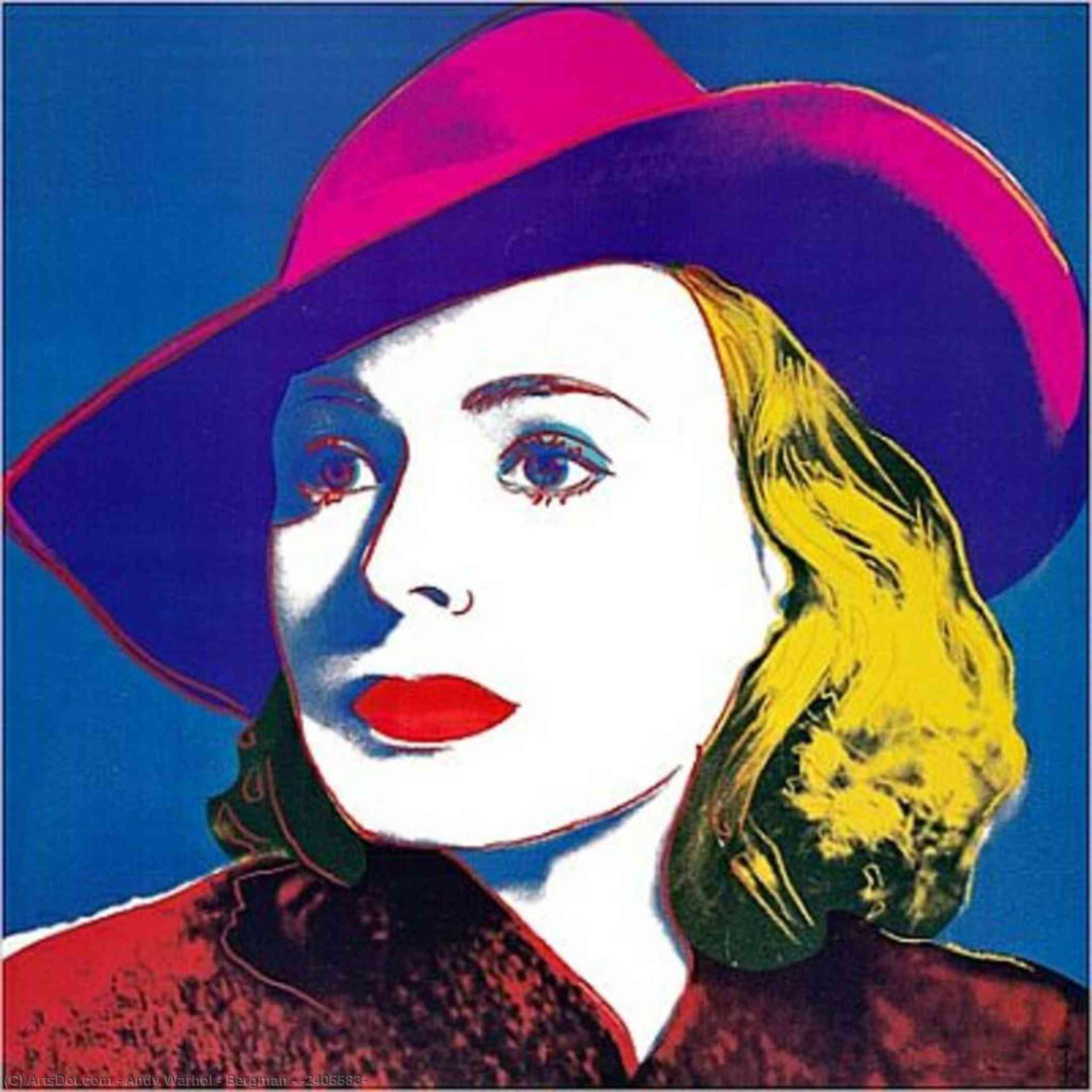Wikioo.org - The Encyclopedia of Fine Arts - Painting, Artwork by Andy Warhol - Bergman - (2405583)