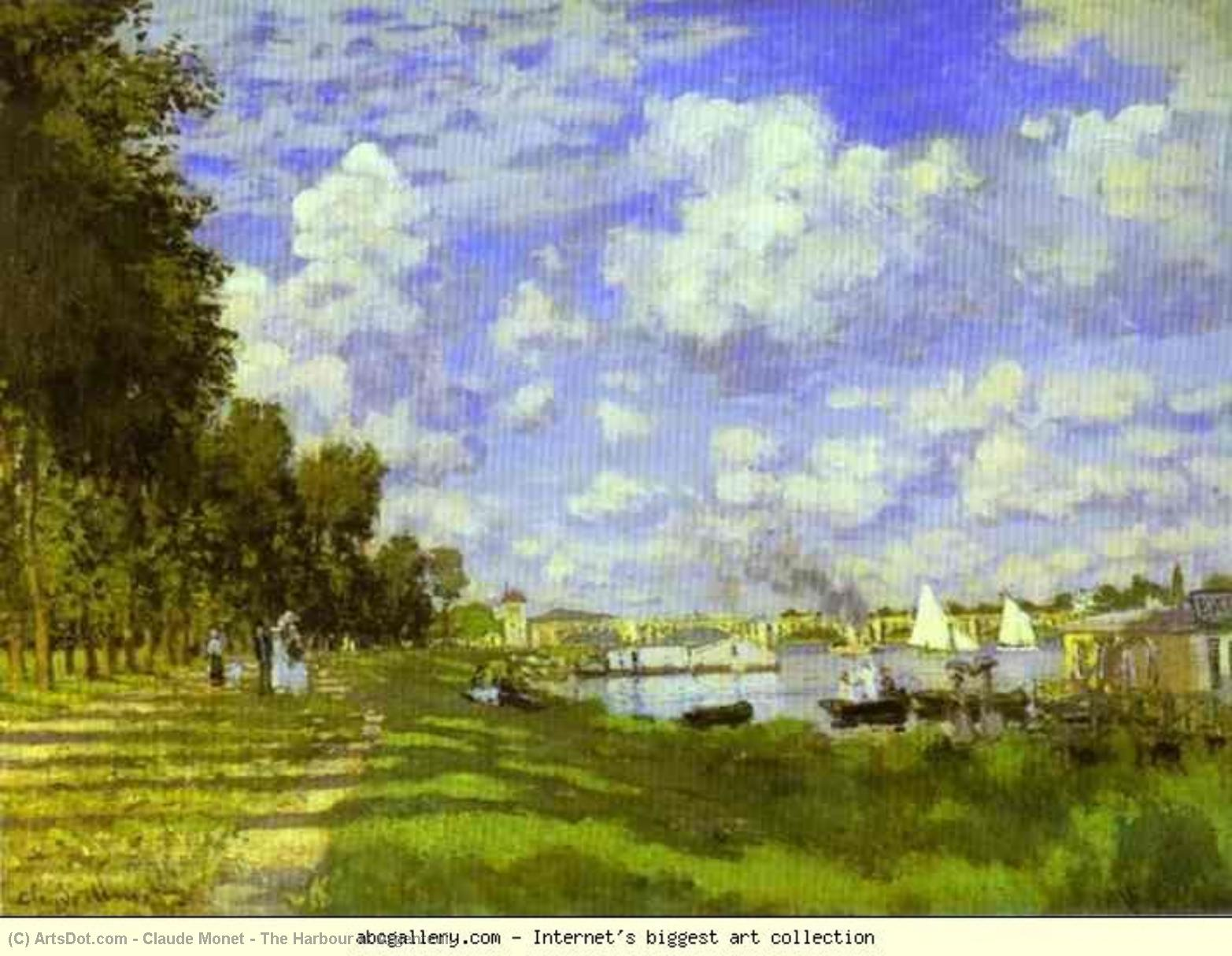 Wikioo.org - The Encyclopedia of Fine Arts - Painting, Artwork by Claude Monet - The Harbour at Argenteuil