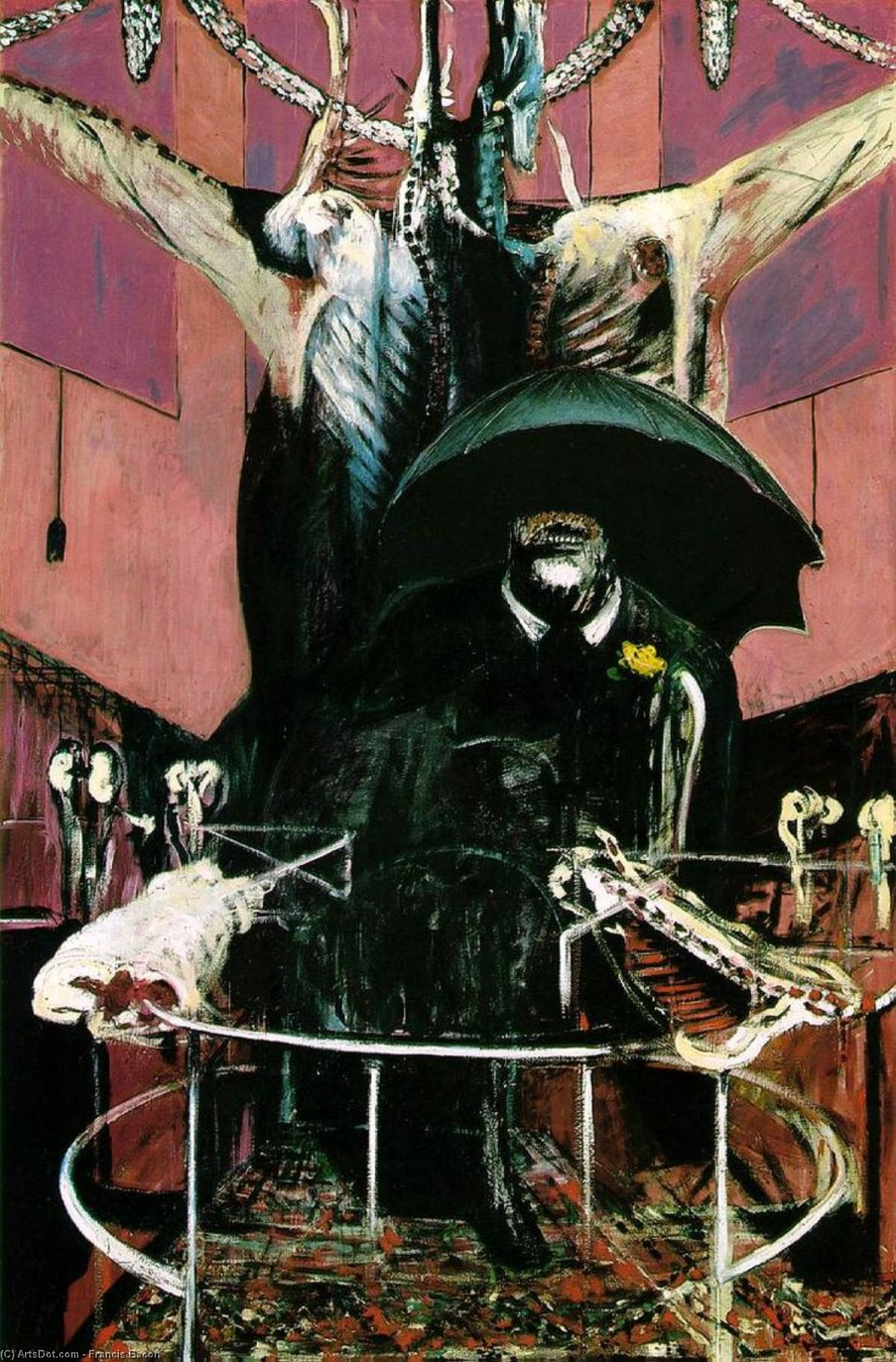 Wikioo.org - The Encyclopedia of Fine Arts - Painting, Artwork by Francis Bacon - painting, 1946