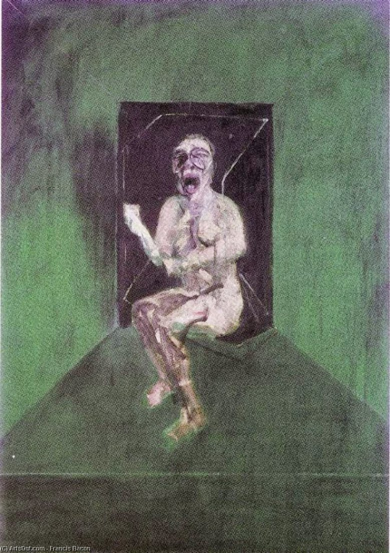 Wikioo.org - The Encyclopedia of Fine Arts - Painting, Artwork by Francis Bacon - study for the nurse in the film