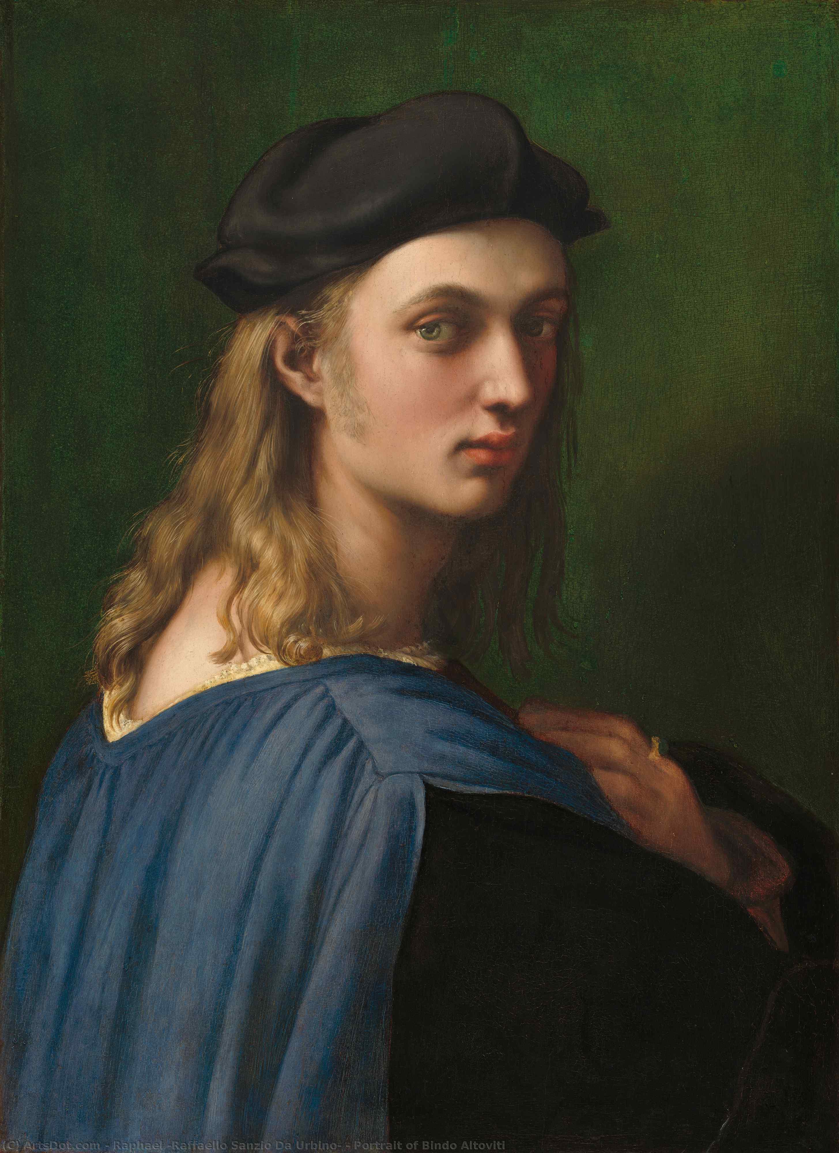 WikiOO.org - אנציקלופדיה לאמנויות יפות - ציור, יצירות אמנות Raphael (Raffaello Sanzio Da Urbino) - Portrait of Bindo Altoviti