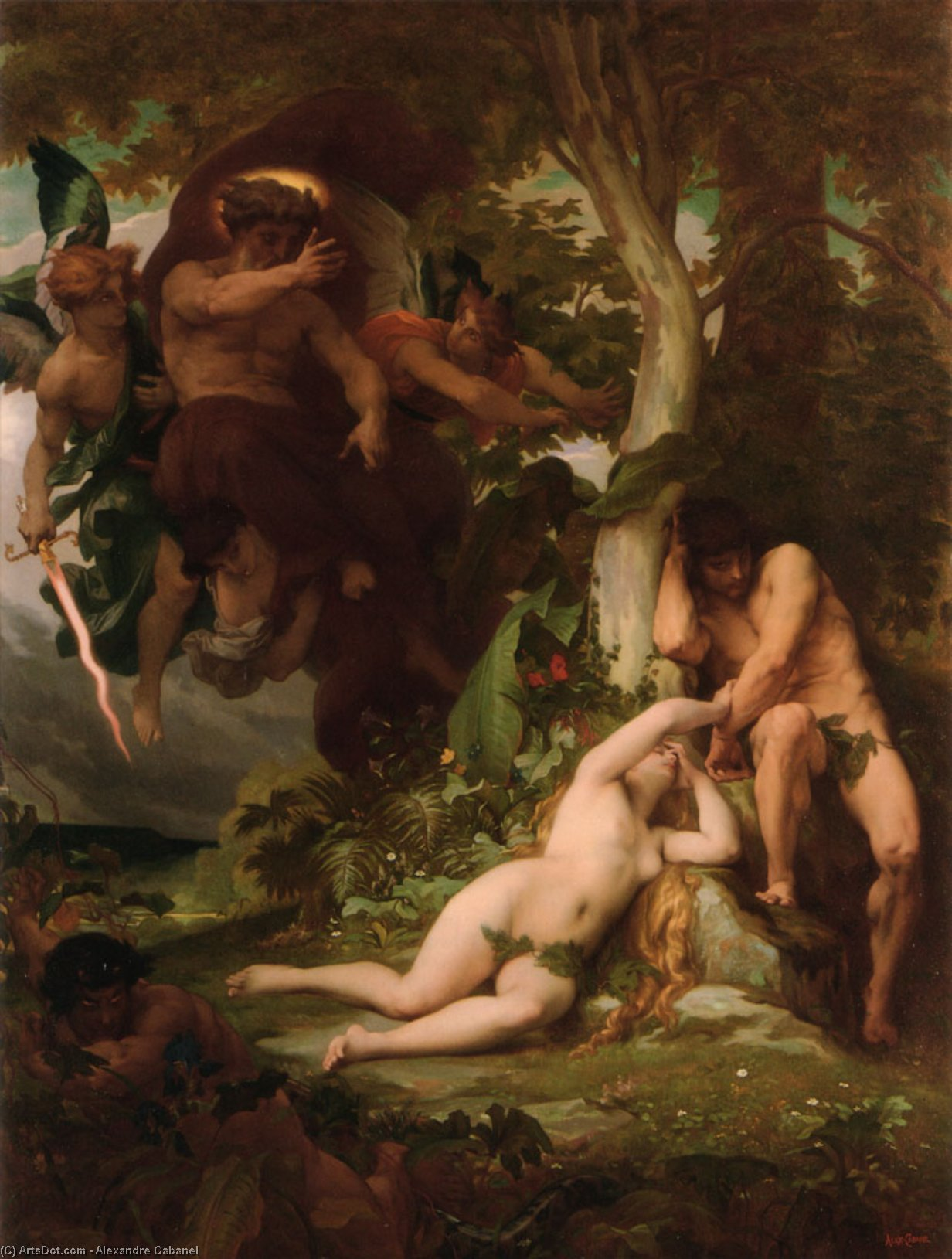 an essay on the fall of man and the intimate relationship of adam and eve with god