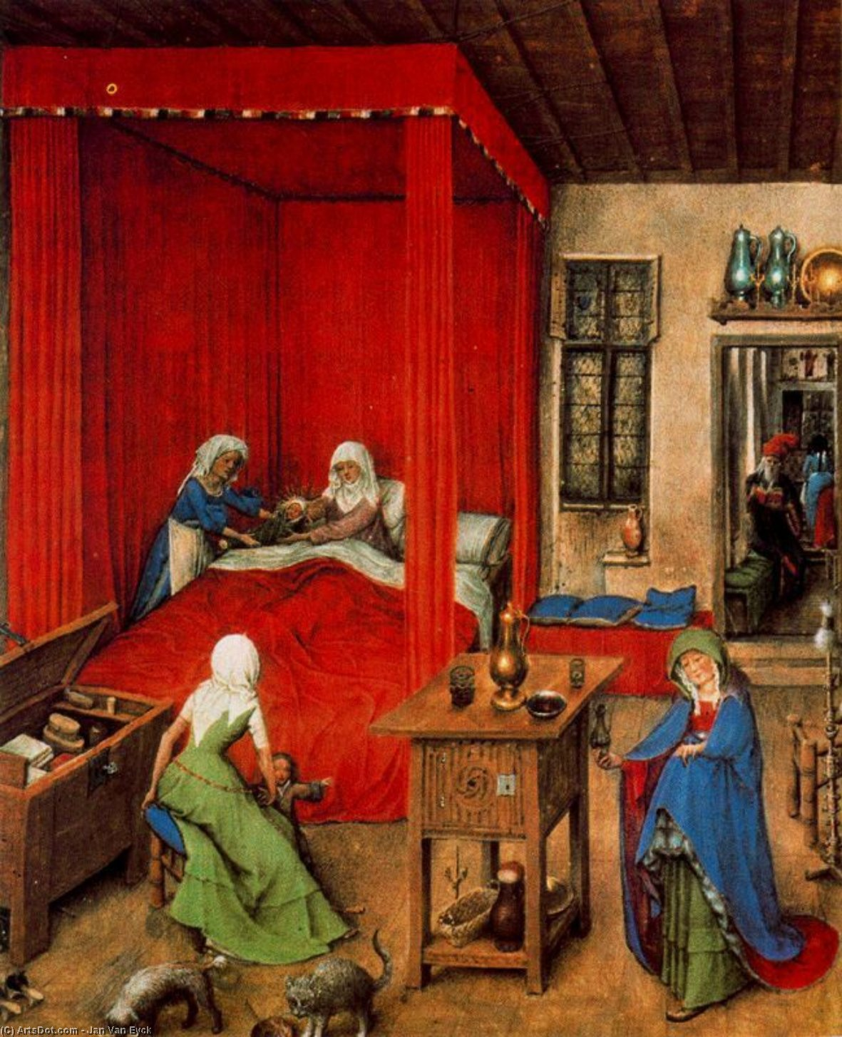 the life and influence of jan van eyck in the painting world