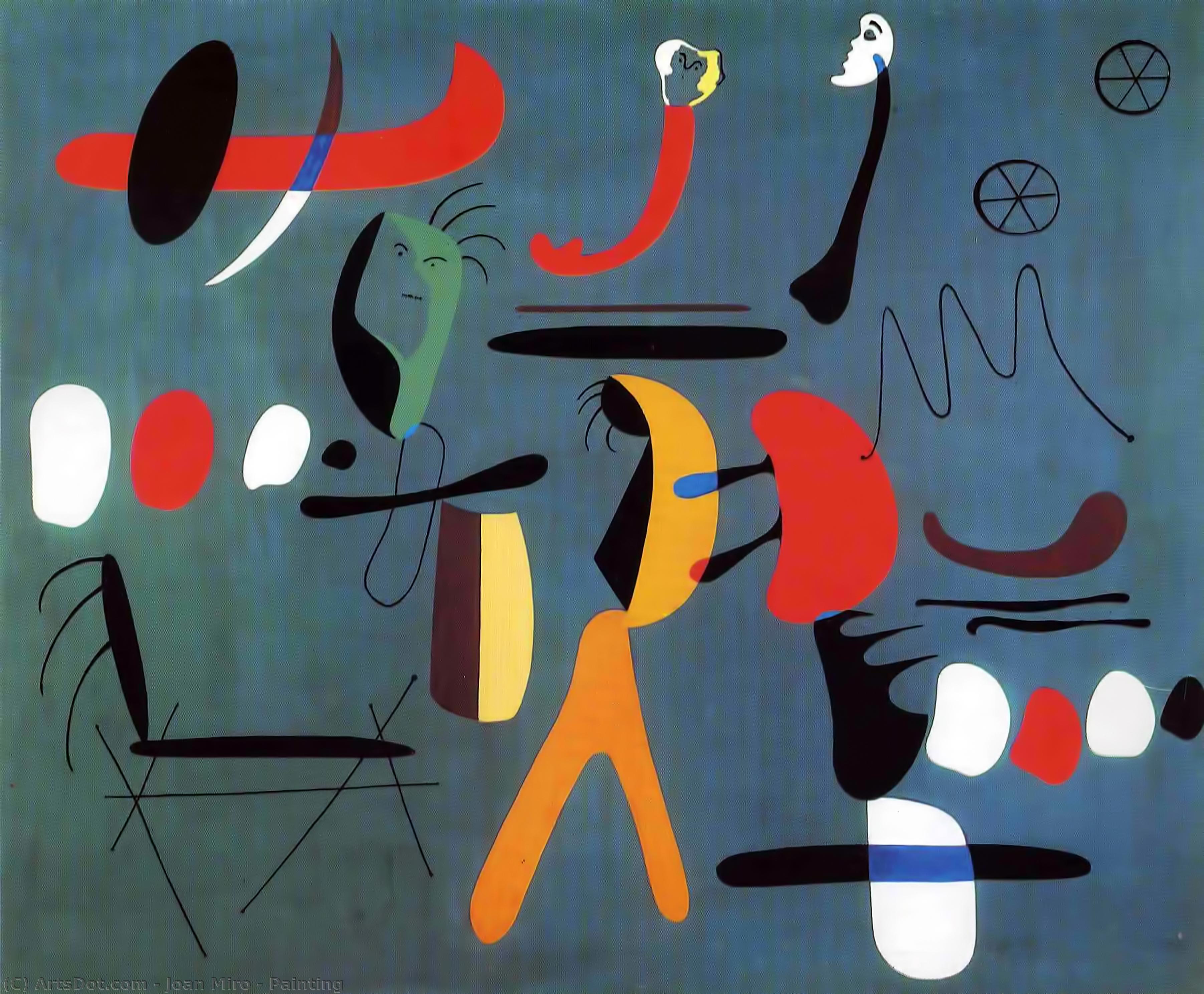 Wikioo.org – La Enciclopedia de las Bellas Artes - Pintura, Obras de arte de Joan Miro - pintura