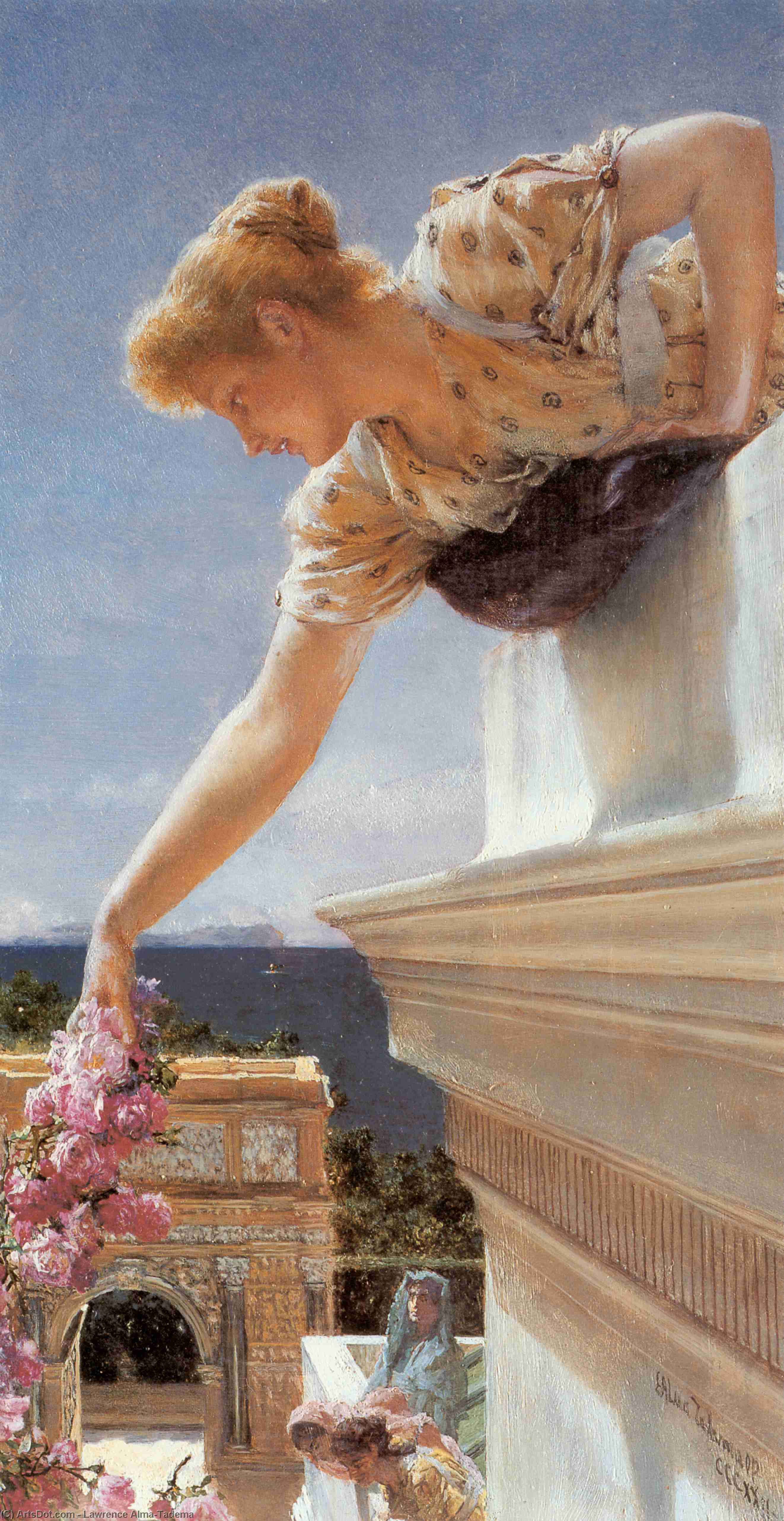 Wikioo.org - The Encyclopedia of Fine Arts - Painting, Artwork by Lawrence Alma-Tadema - God Speed!