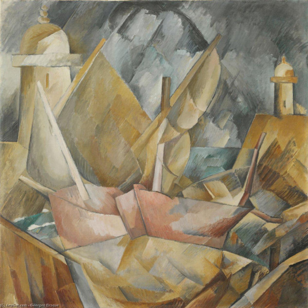 Harbor in Normandy - Georges Braque
