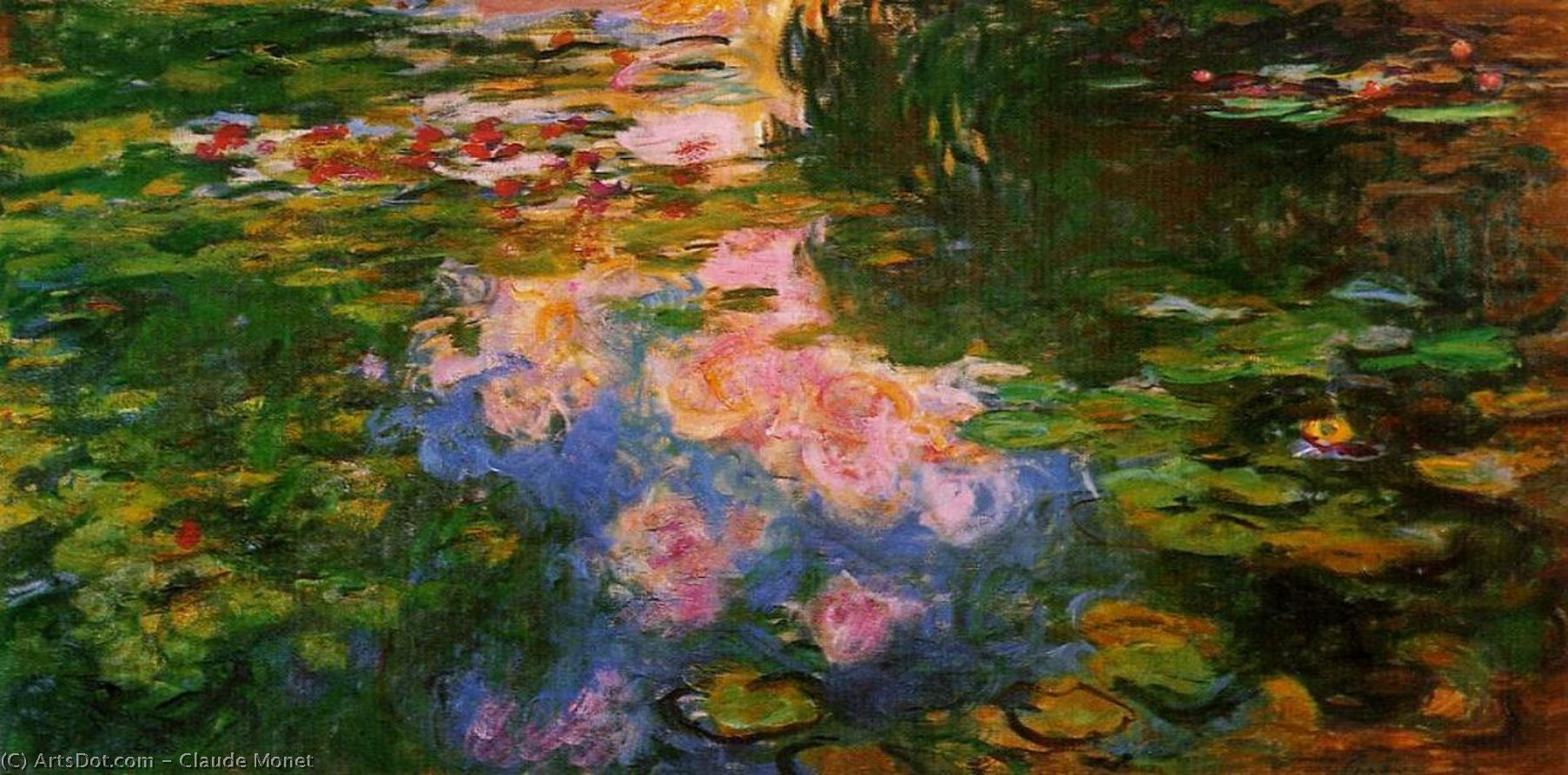 a personal analysis of the painting water lilies by claude monet This is a lesson plan for a tempera painting inspired by monet's water lilies monet water lilies discuss impressionism and the work of claude monet.