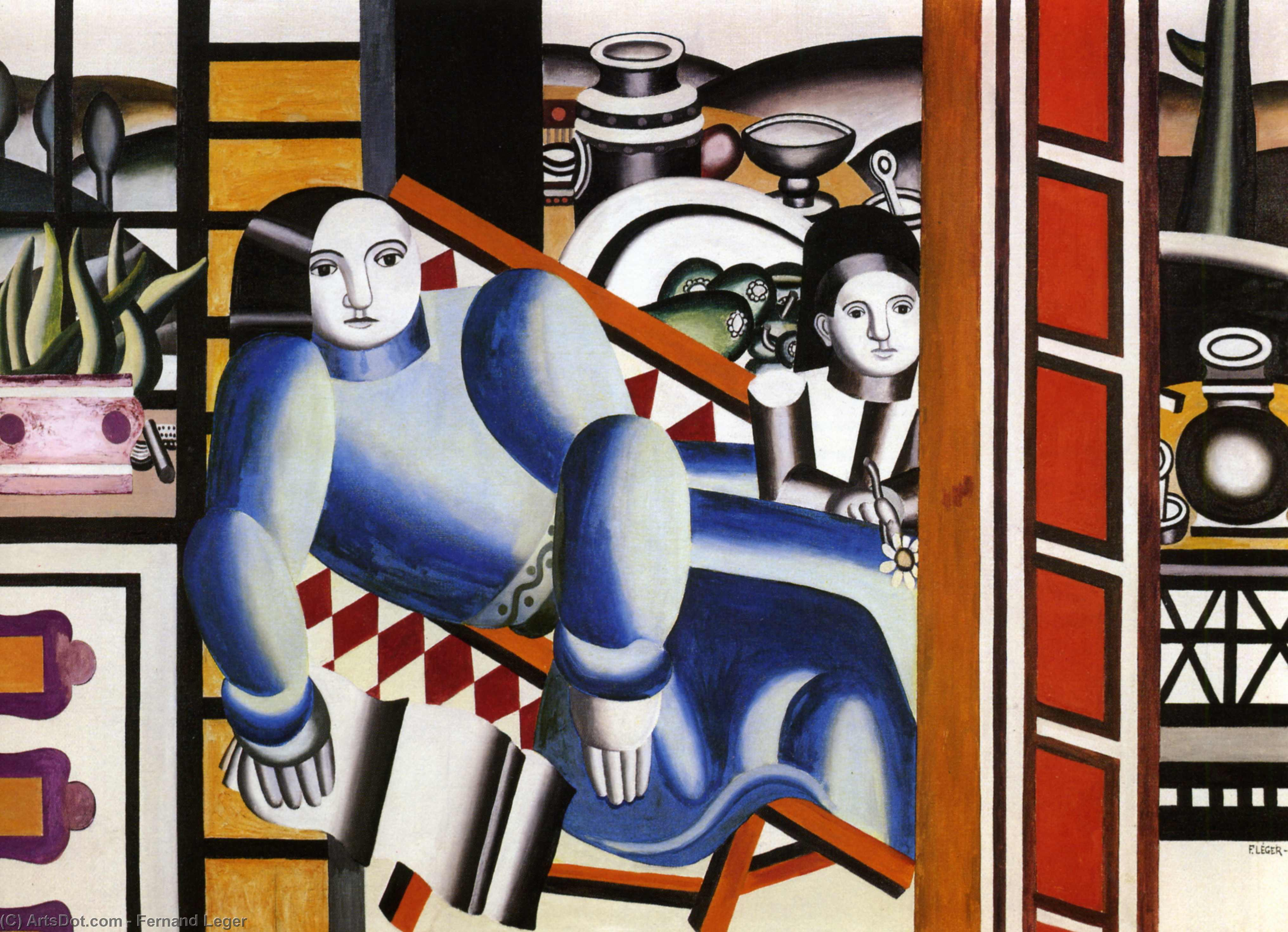 the woman and the child fernand leger wikioo org the