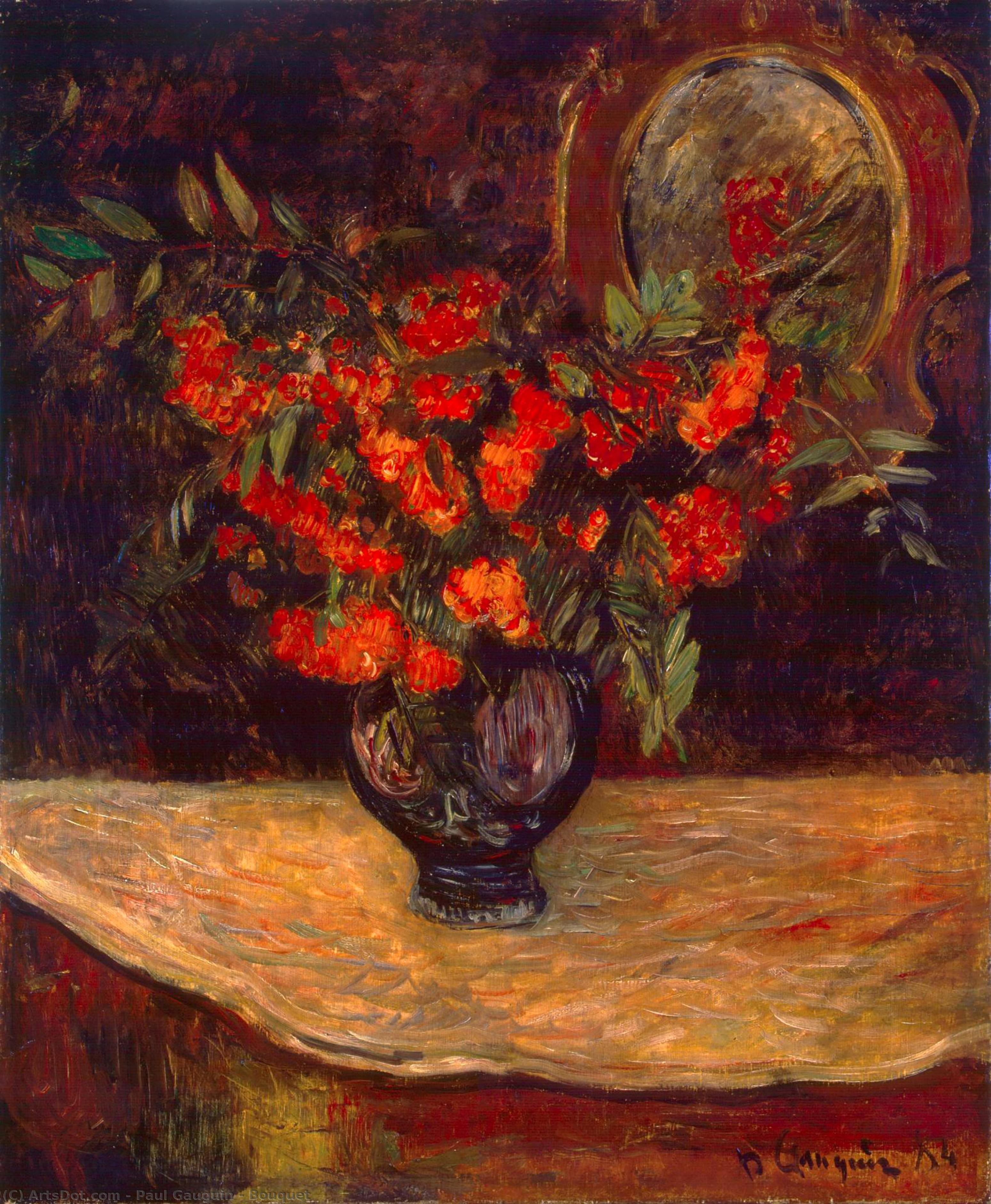 Wikioo.org - The Encyclopedia of Fine Arts - Painting, Artwork by Paul Gauguin - Bouquet