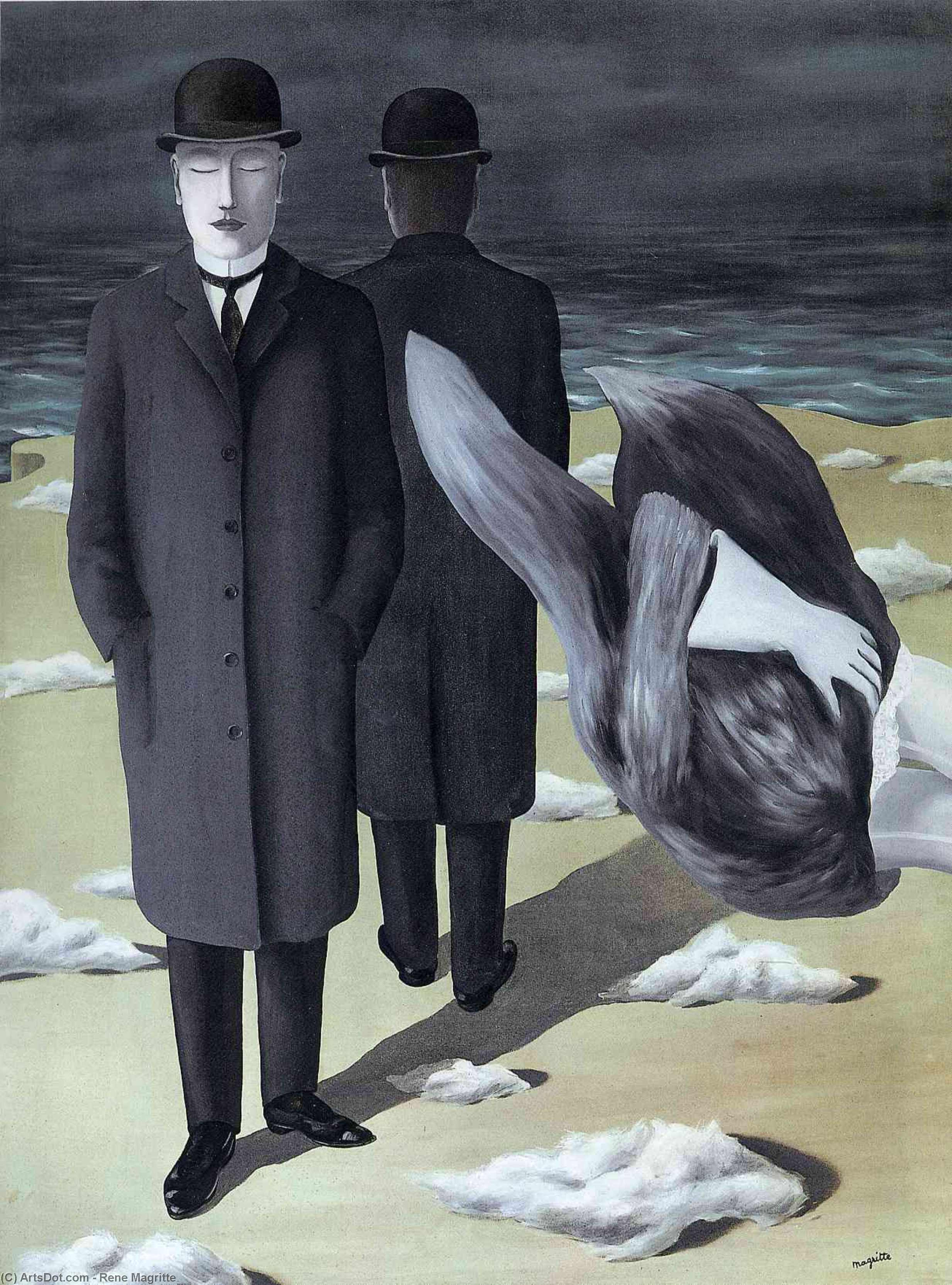 The meaning of night - Rene Magritte