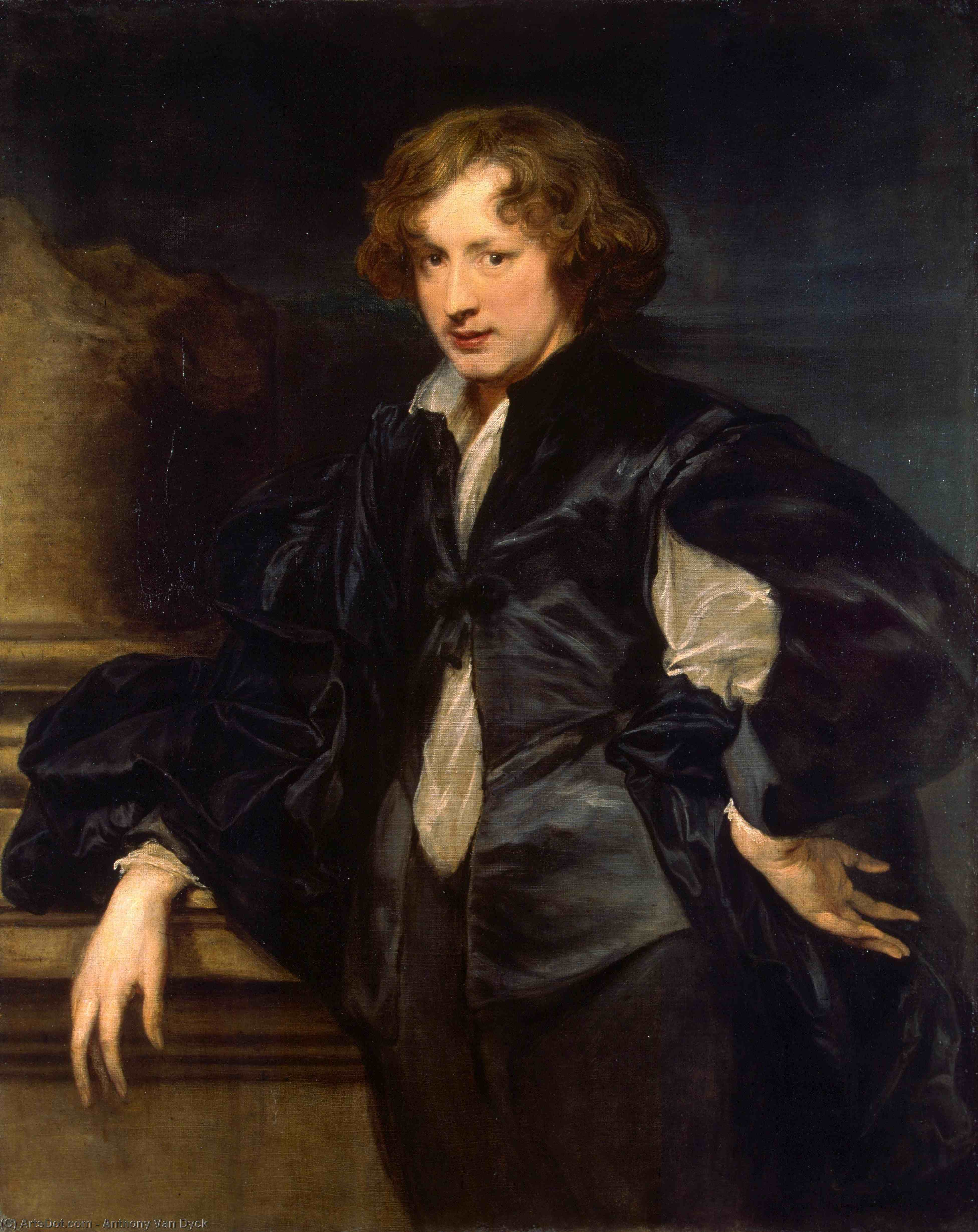 Wikioo.org - The Encyclopedia of Fine Arts - Painting, Artwork by Anthony Van Dyck - Self-Portrait