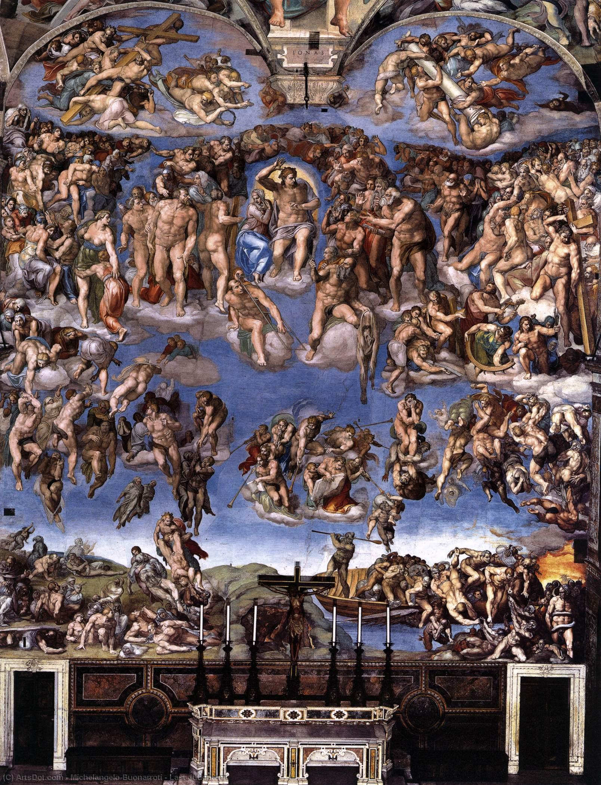 Last Judgment - Michelangelo Buonarroti