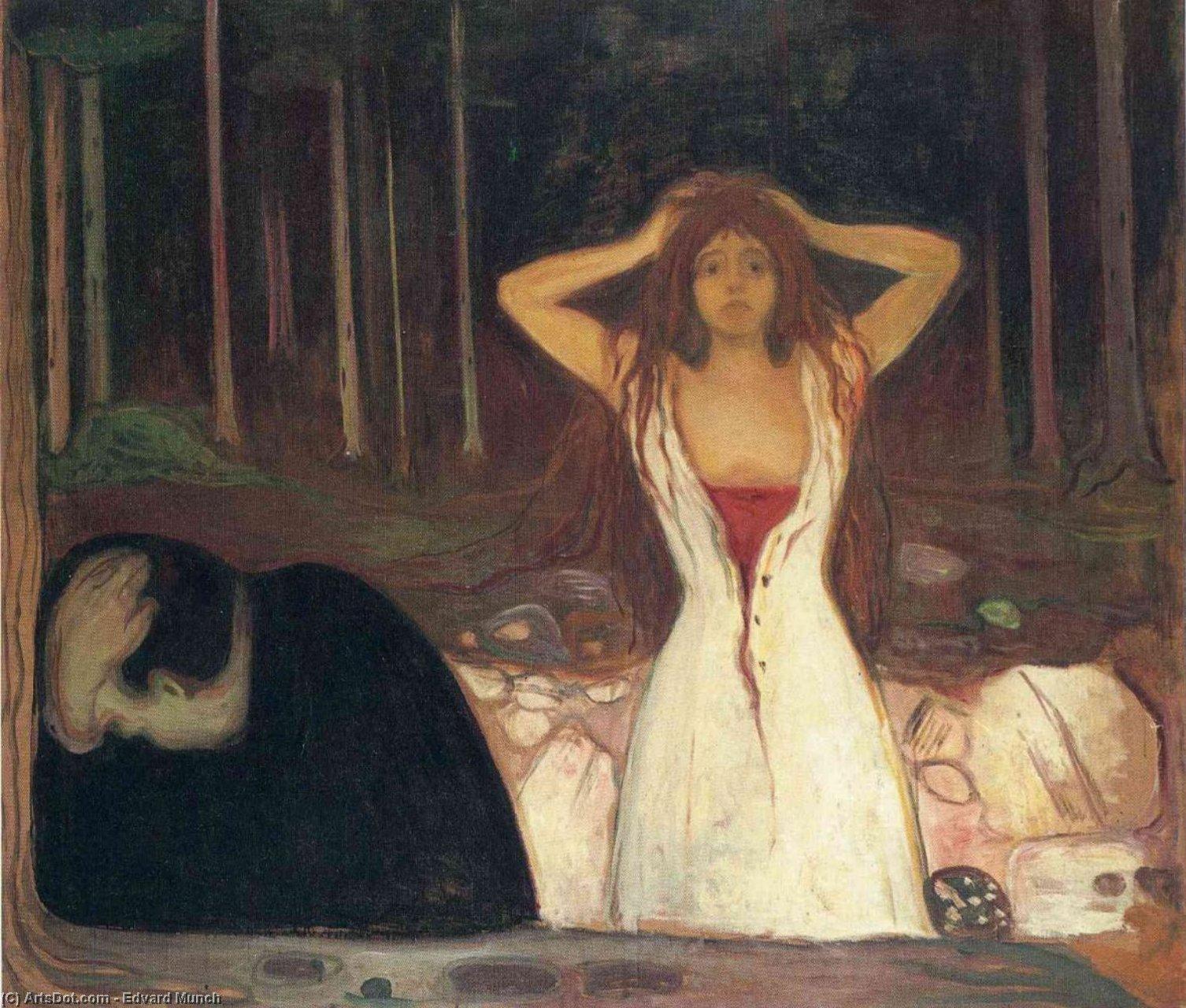 WikiOO.org - Enciclopedia of Fine Arts - Pictura, lucrări de artă Edvard Munch - untitled (4776)