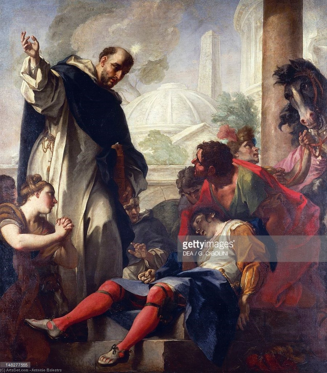 the works of saint dominic Saint dominic founder of dominic knew with certainty that the work god required of him was and carried him to the church of st sixtus to lay him at dominic.
