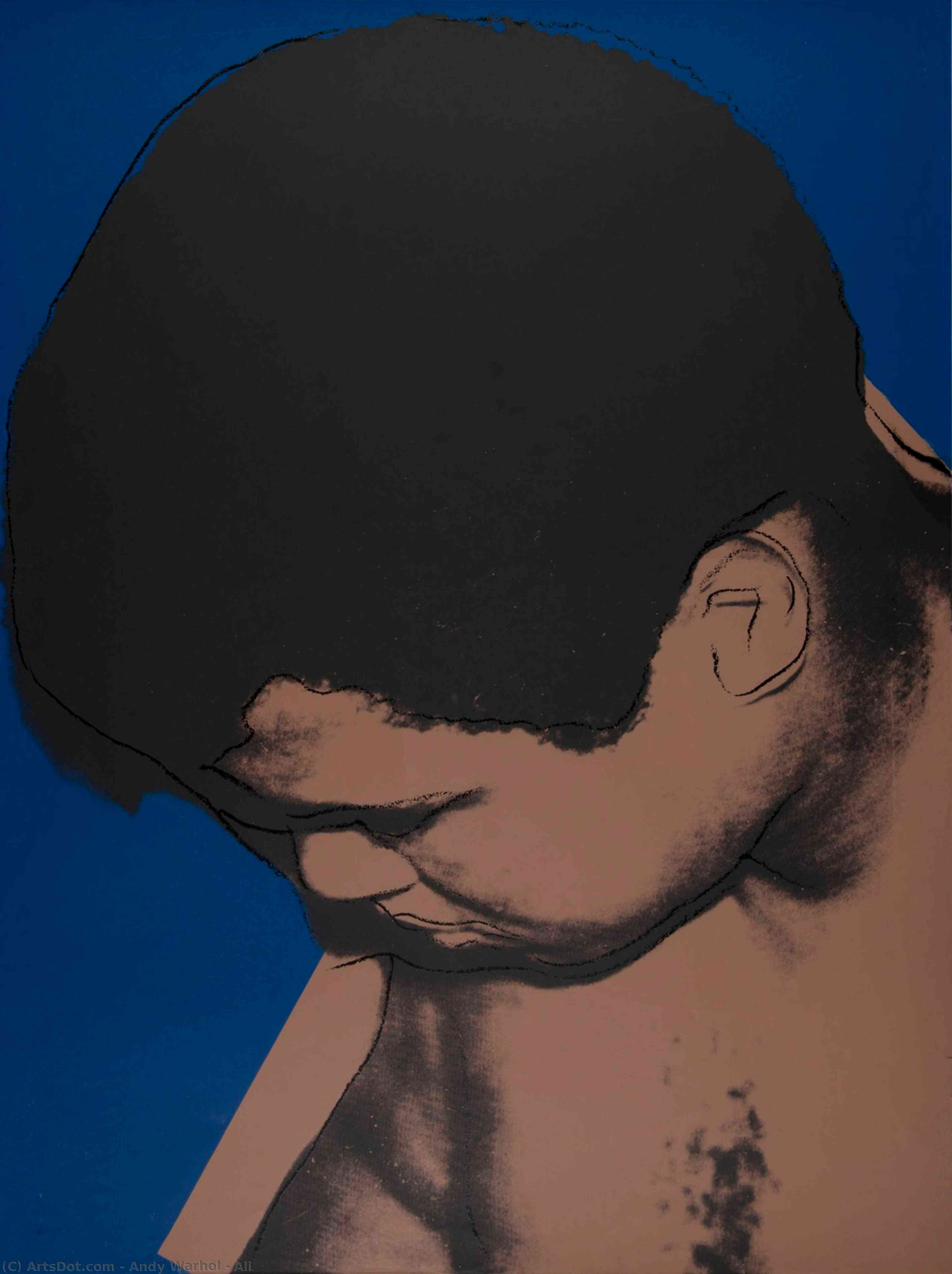 Wikioo.org - The Encyclopedia of Fine Arts - Painting, Artwork by Andy Warhol - Ali