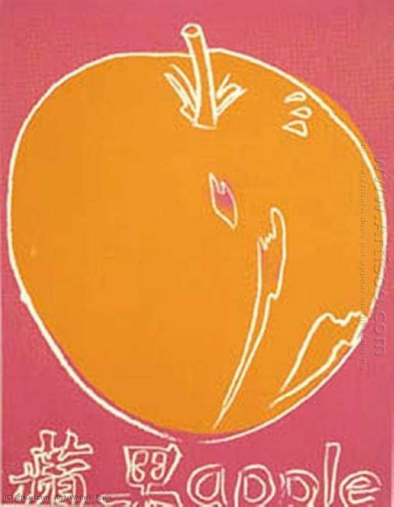 Wikioo.org - The Encyclopedia of Fine Arts - Painting, Artwork by Andy Warhol - Apple