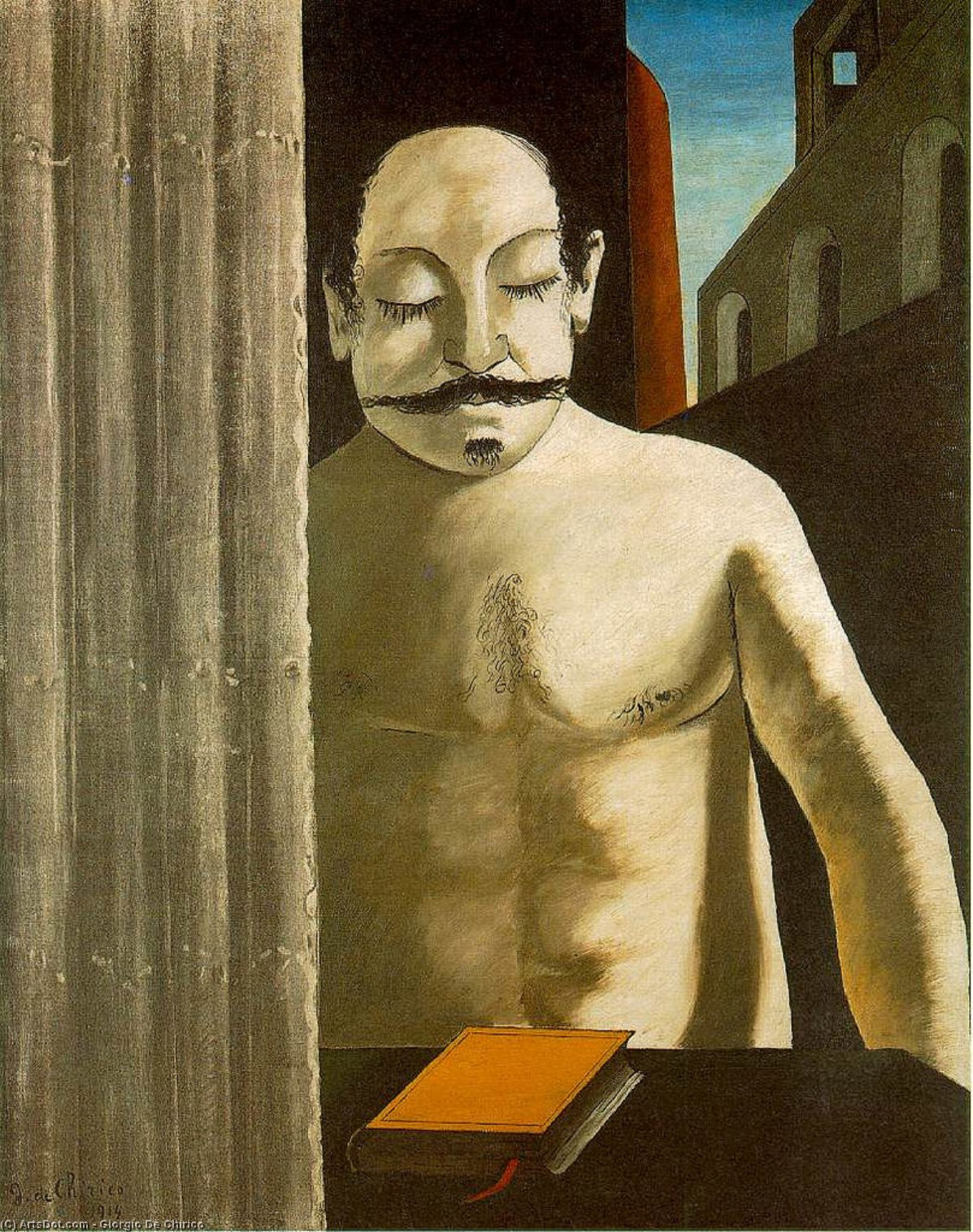 Wikioo.org - Die Enzyklopädie bildender Kunst - Malerei, Kunstwerk von Giorgio De Chirico - Das Gehirn des Kindes