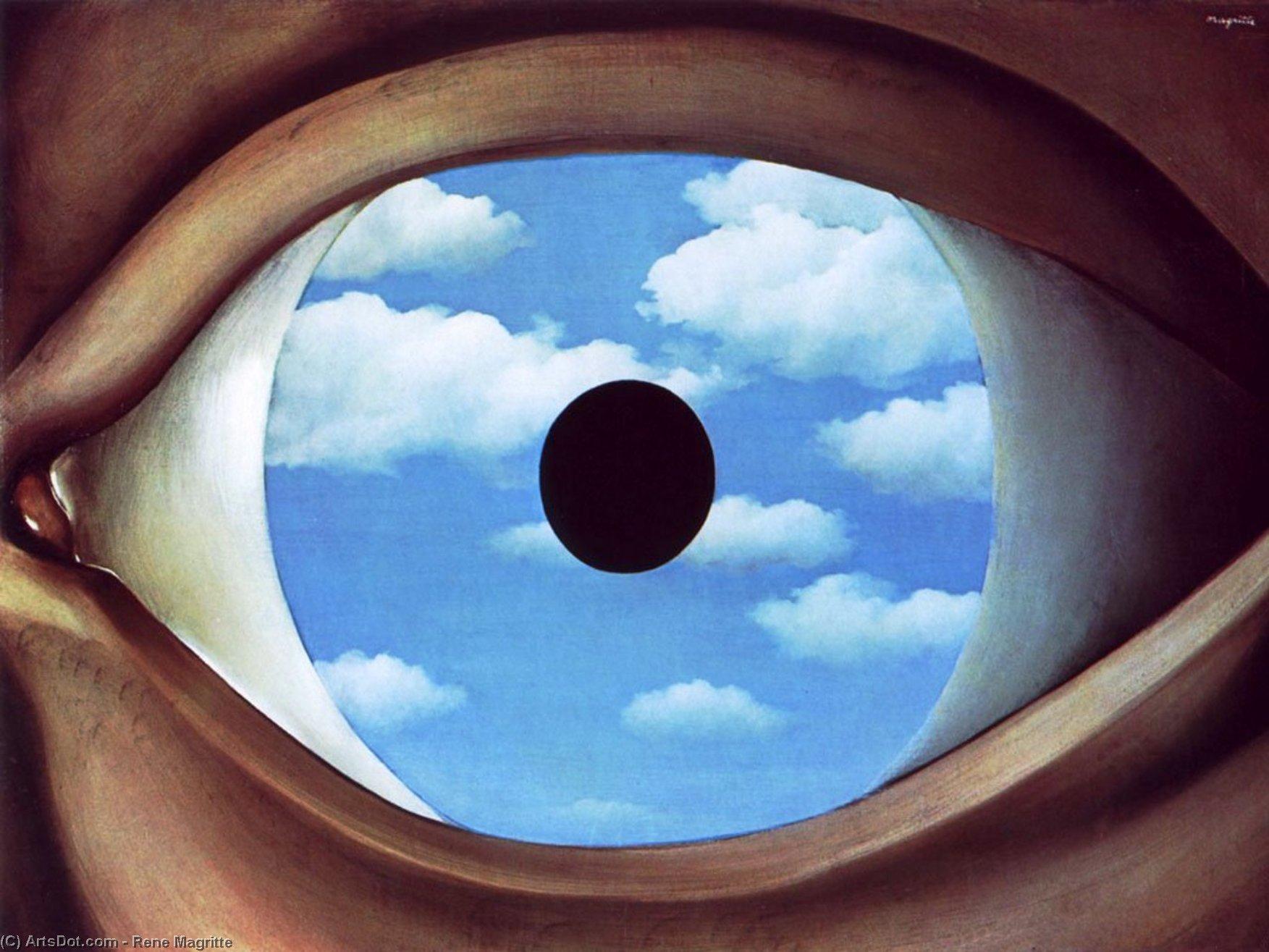 False Mirror - Rene Magritte