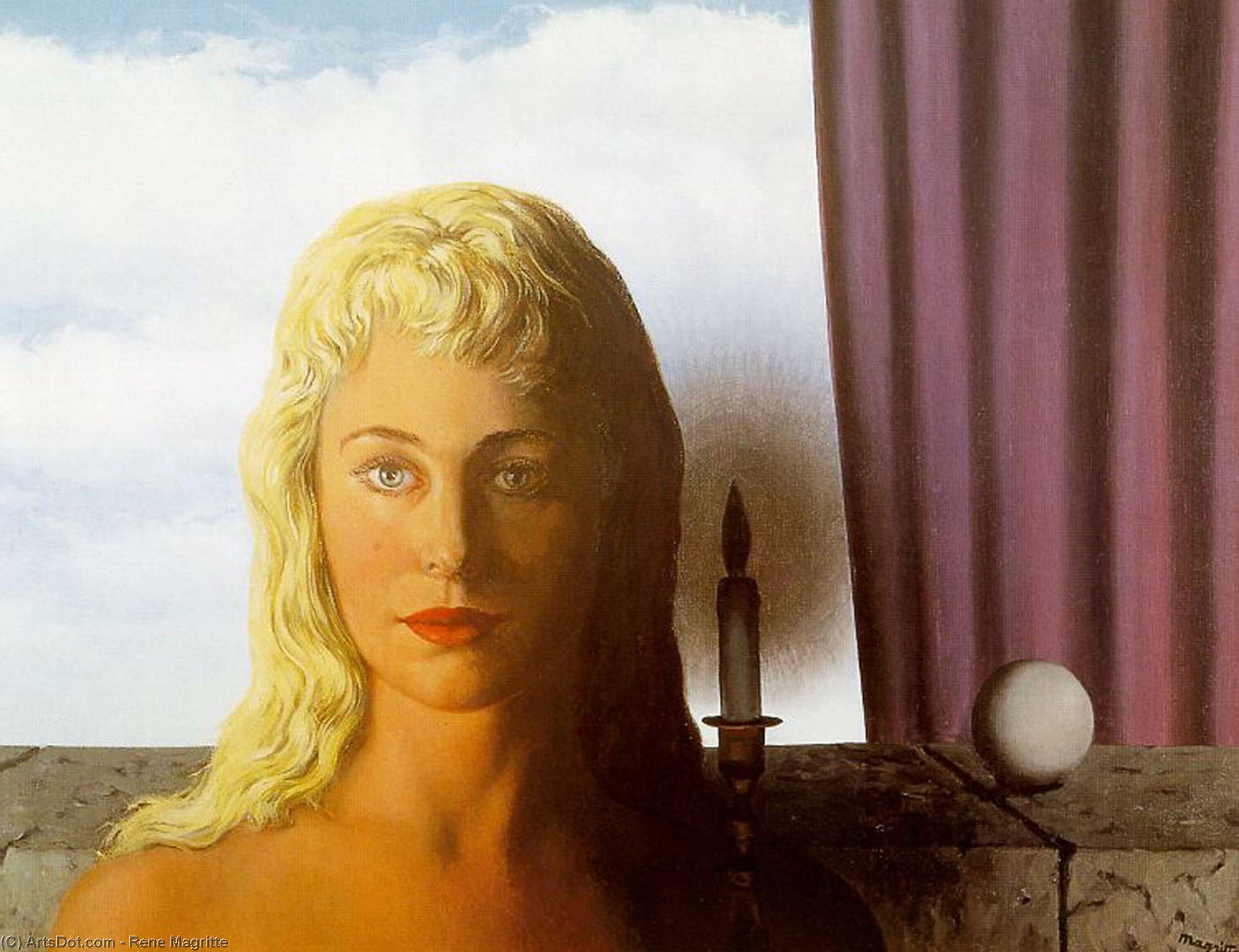 Wikioo.org – L'Enciclopedia delle Belle Arti - Pittura, Opere di Rene Magritte - La fata ignorante