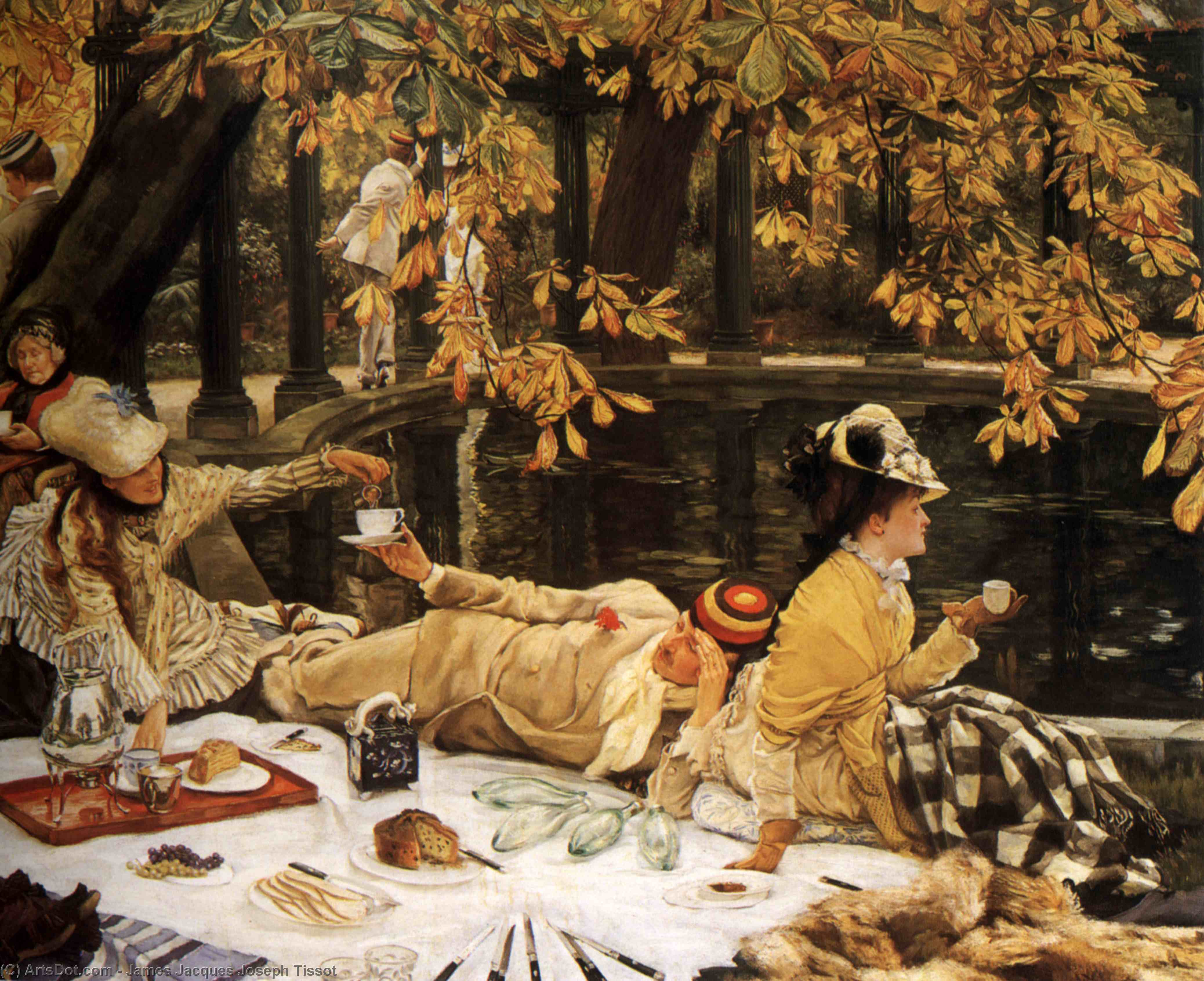 Wikioo.org - The Encyclopedia of Fine Arts - Painting, Artwork by James Jacques Joseph Tissot - Holyday