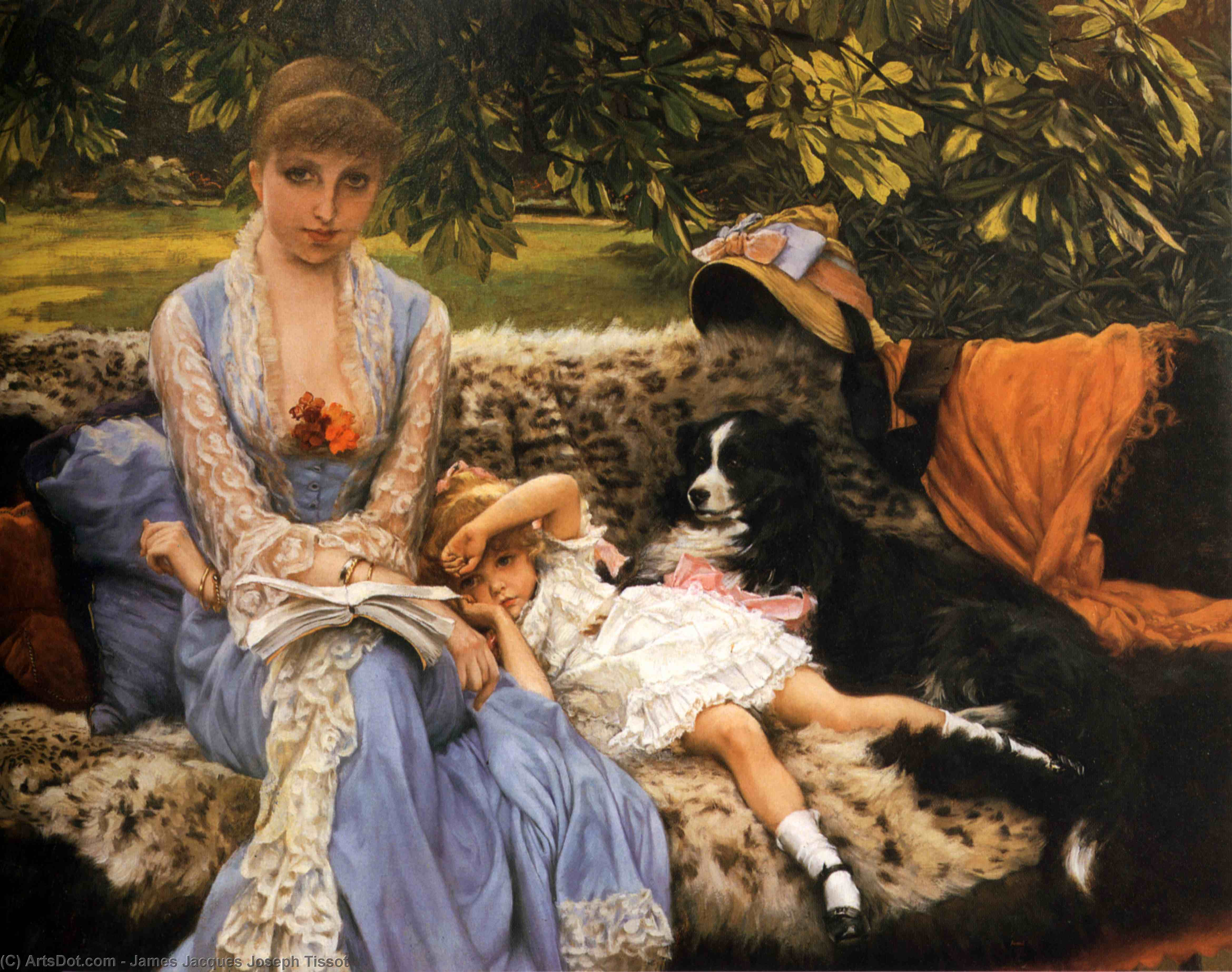 Wikioo.org - The Encyclopedia of Fine Arts - Painting, Artwork by James Jacques Joseph Tissot - Quiet