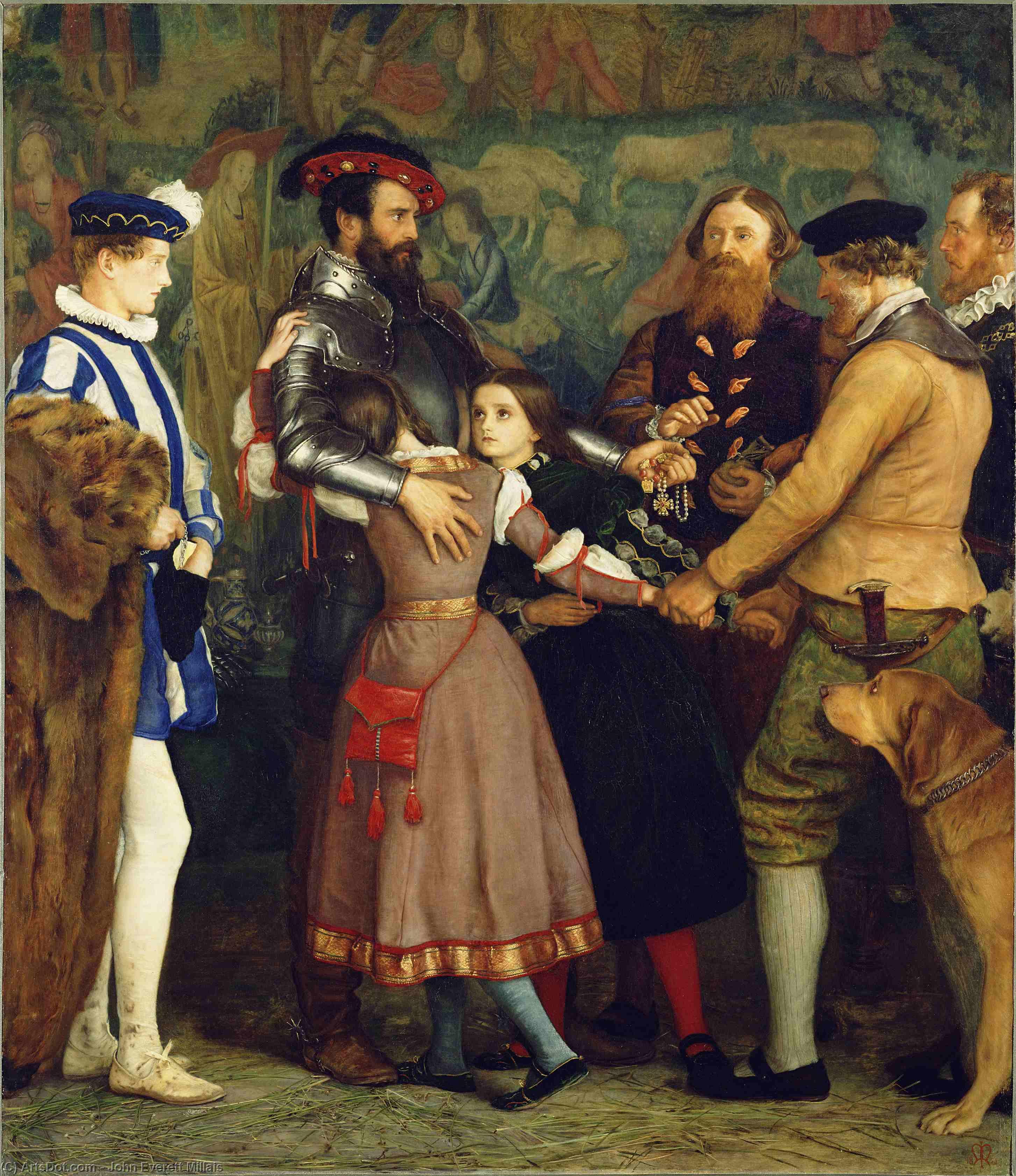 Wikioo.org - The Encyclopedia of Fine Arts - Painting, Artwork by John Everett Millais - The Ransom