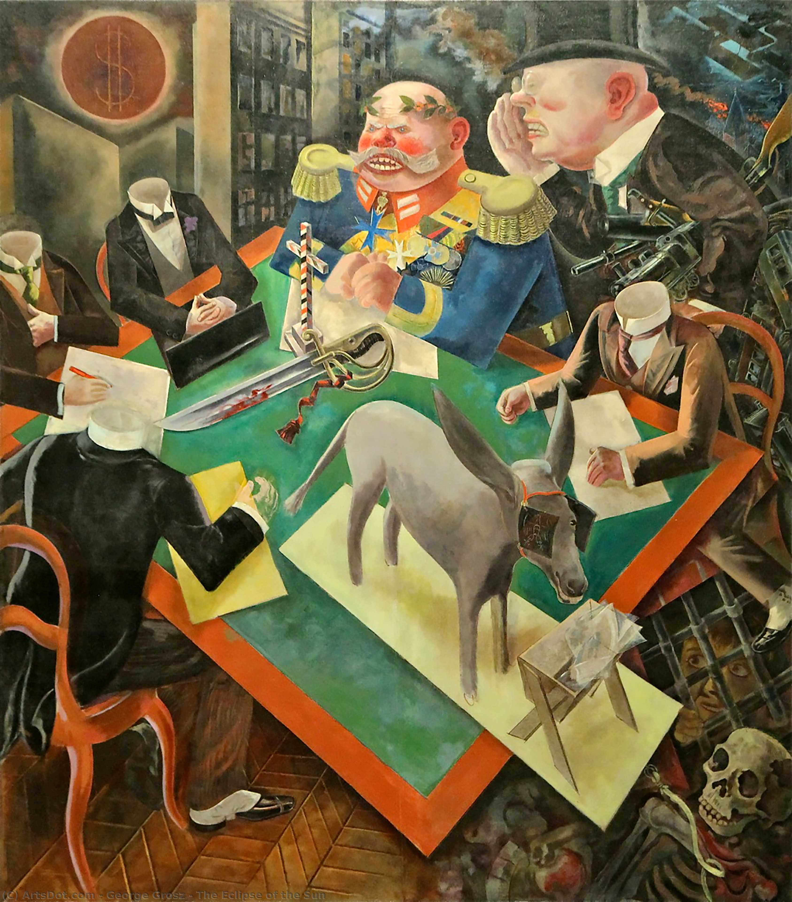 The Eclipse of the Sun - George Grosz