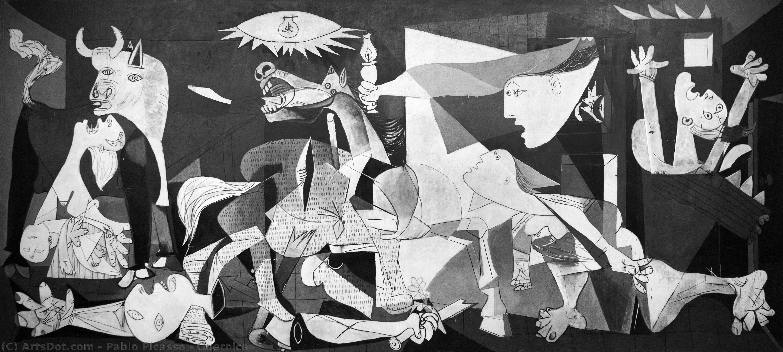 WikiOO.org - Enciklopedija dailės - Tapyba, meno kuriniai Pablo Picasso - Guernica