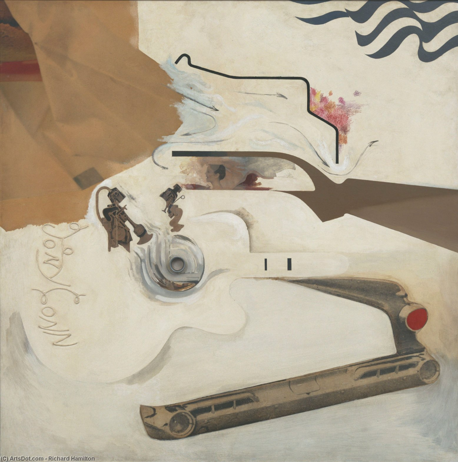 Wikioo.org - The Encyclopedia of Fine Arts - Painting, Artwork by Richard Hamilton - Glorious Techniculture