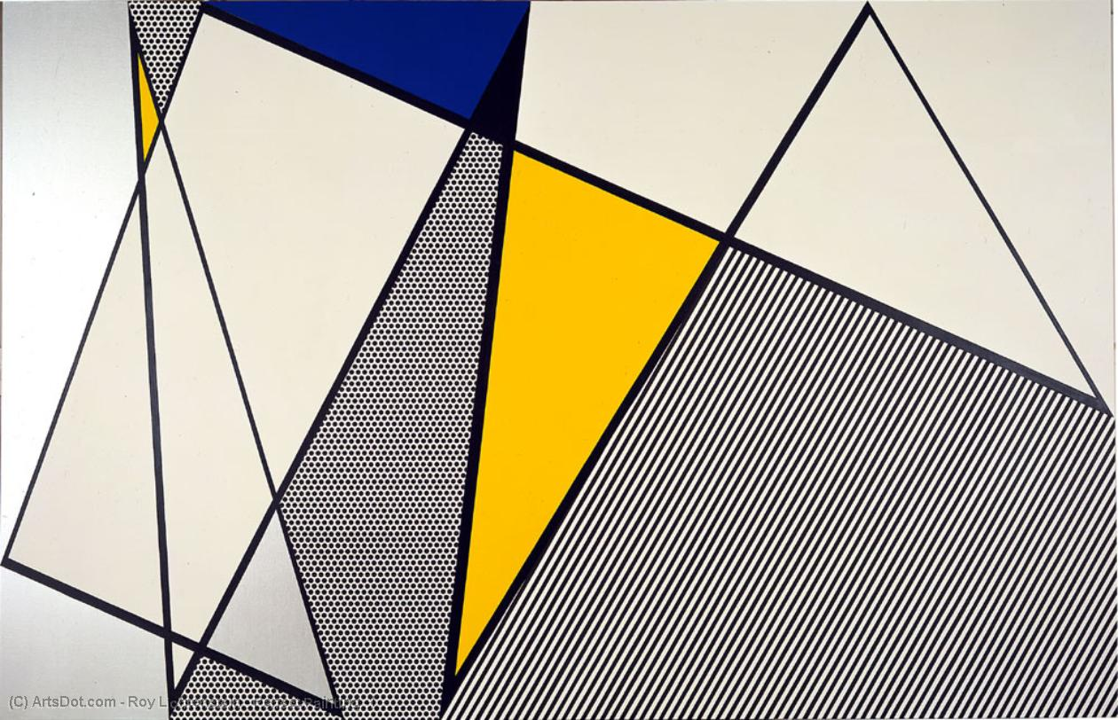 Wikioo.org - The Encyclopedia of Fine Arts - Painting, Artwork by Roy Lichtenstein - Perfect Painting -1