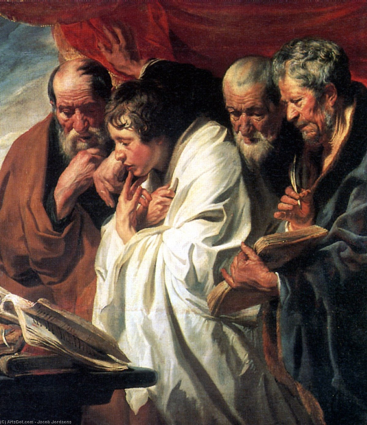 The Four Evangelists - Jacob Jordaens