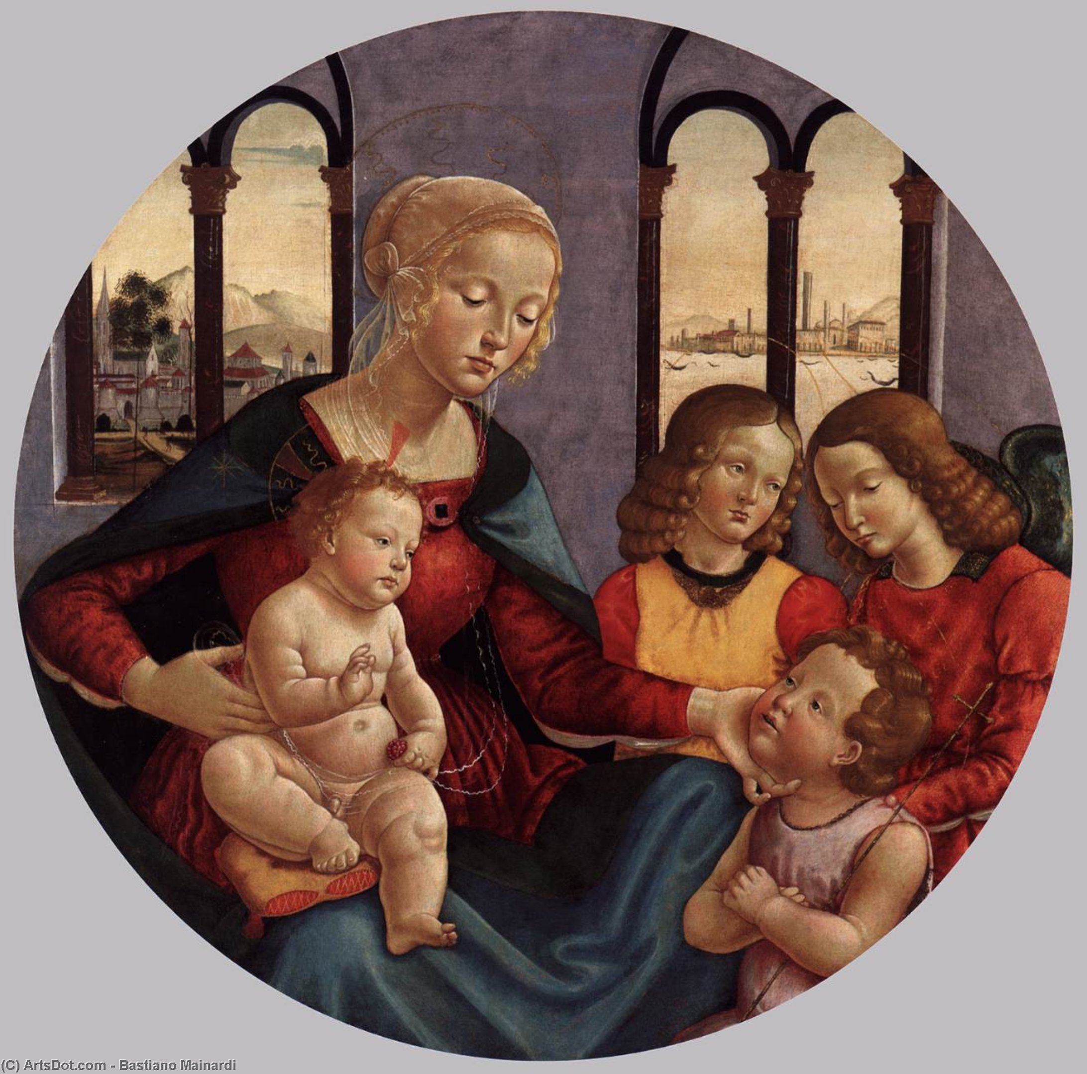 an analysis of the two artworks entitled virgin and child Information and analysis of masaccio's masterpiece of the holy trinity in santa maria novella masaccio's holy trinity unites the two different spaces.