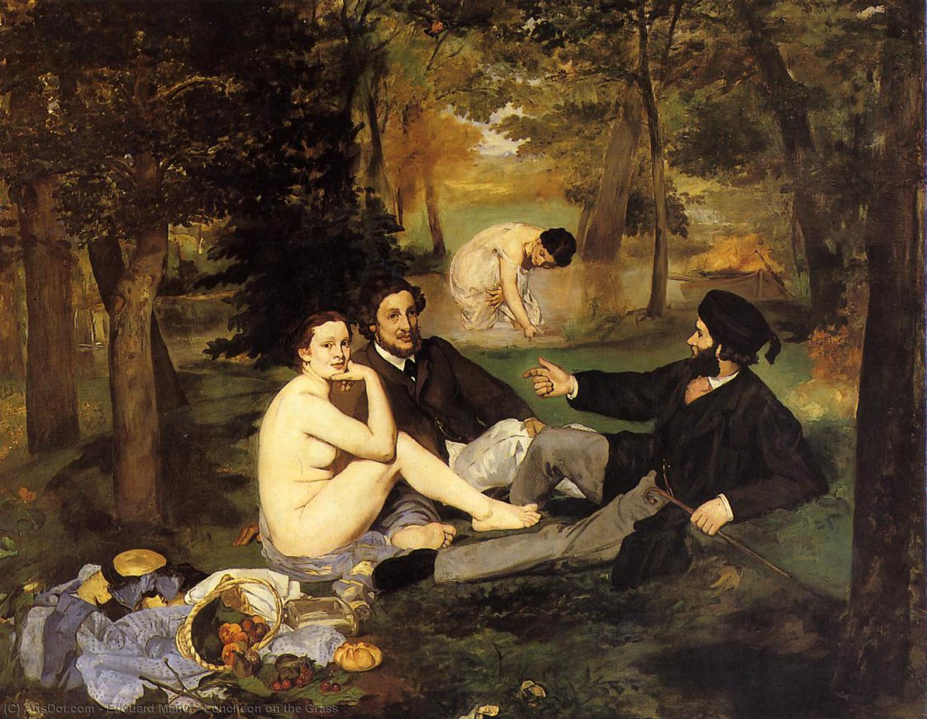 Luncheon on the Grass - Edouard Manet
