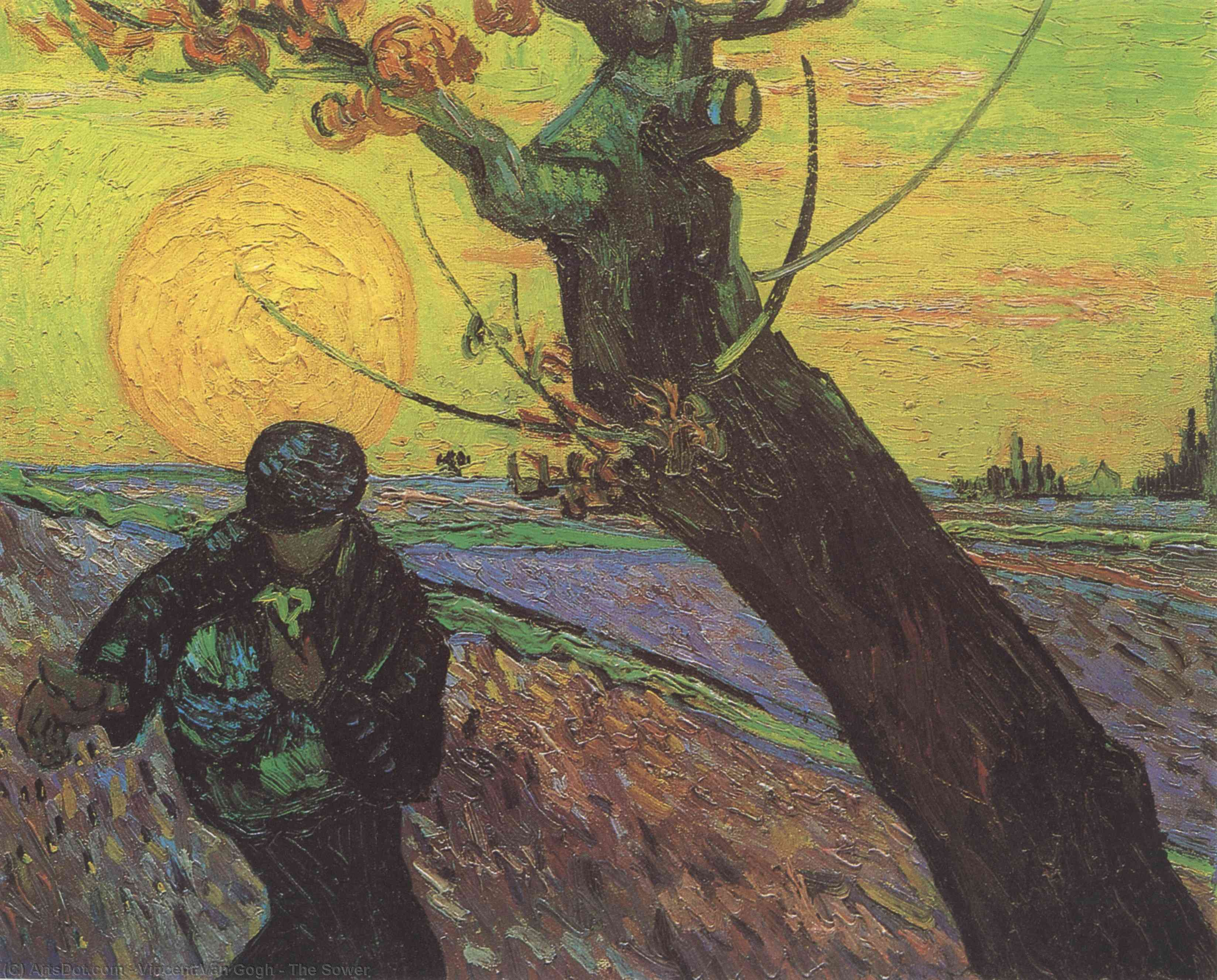 Wikioo.org - The Encyclopedia of Fine Arts - Painting, Artwork by Vincent Van Gogh - The Sower