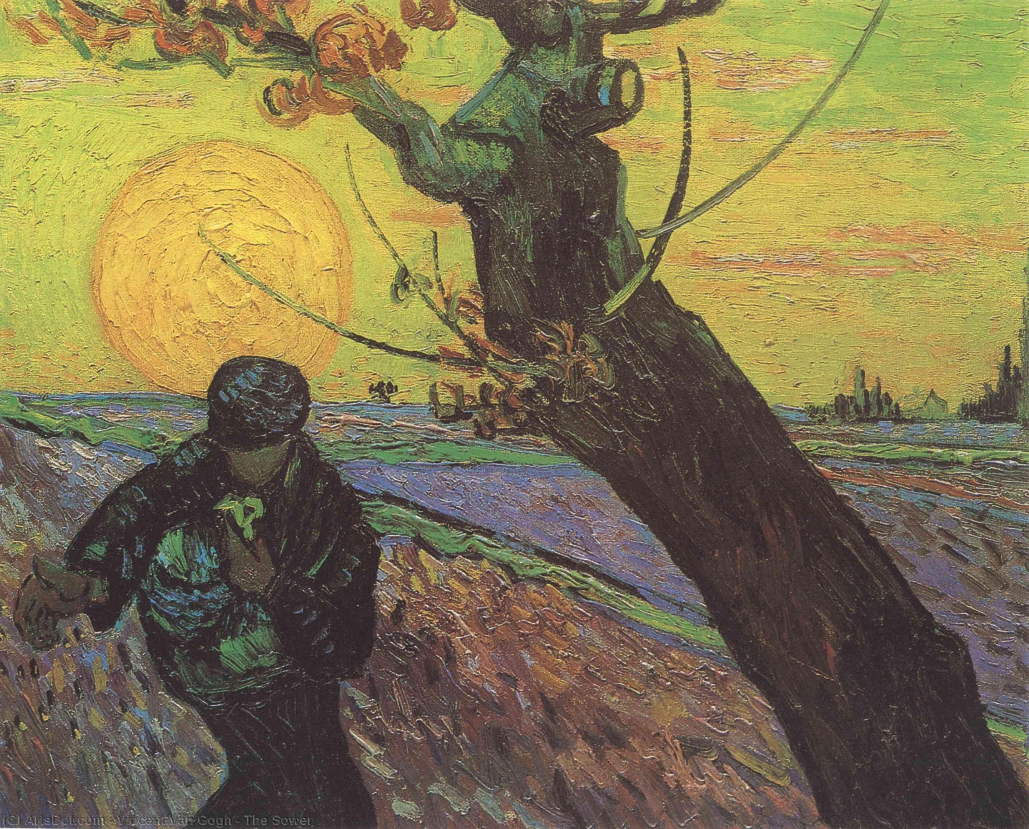 WikiOO.org - Енциклопедия за изящни изкуства - Живопис, Произведения на изкуството Vincent Van Gogh - The Sower