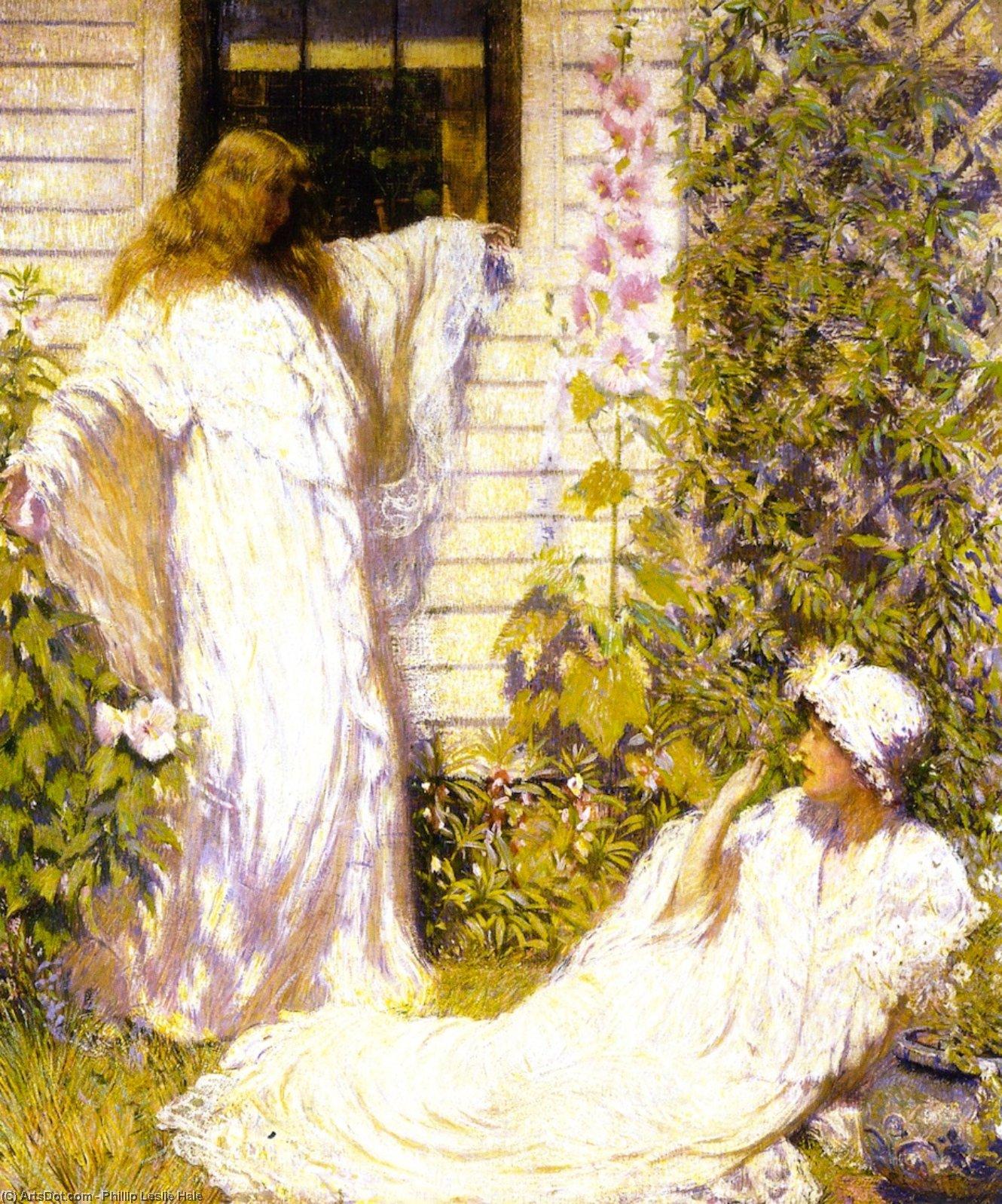 Wikioo.org - The Encyclopedia of Fine Arts - Painting, Artwork by Philip Leslie Hale - Sun Bath