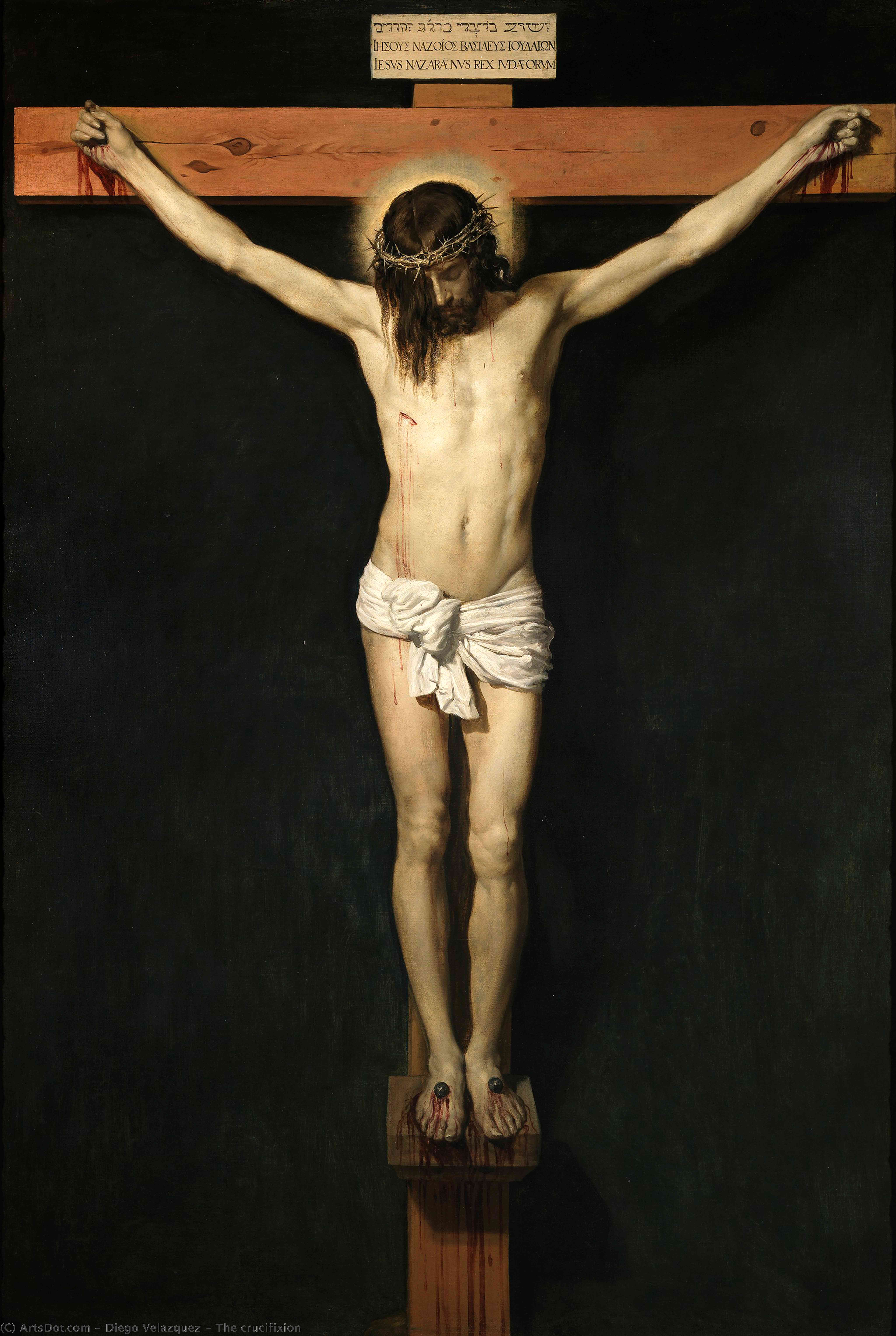 Wikioo.org - The Encyclopedia of Fine Arts - Painting, Artwork by Diego Velazquez - The crucifixion