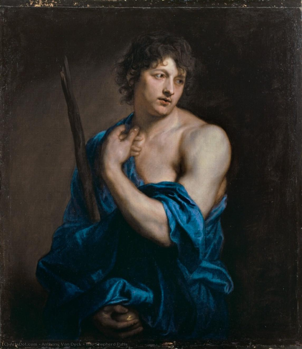 Wikioo.org - The Encyclopedia of Fine Arts - Painting, Artwork by Anthony Van Dyck - The Shepherd Paris